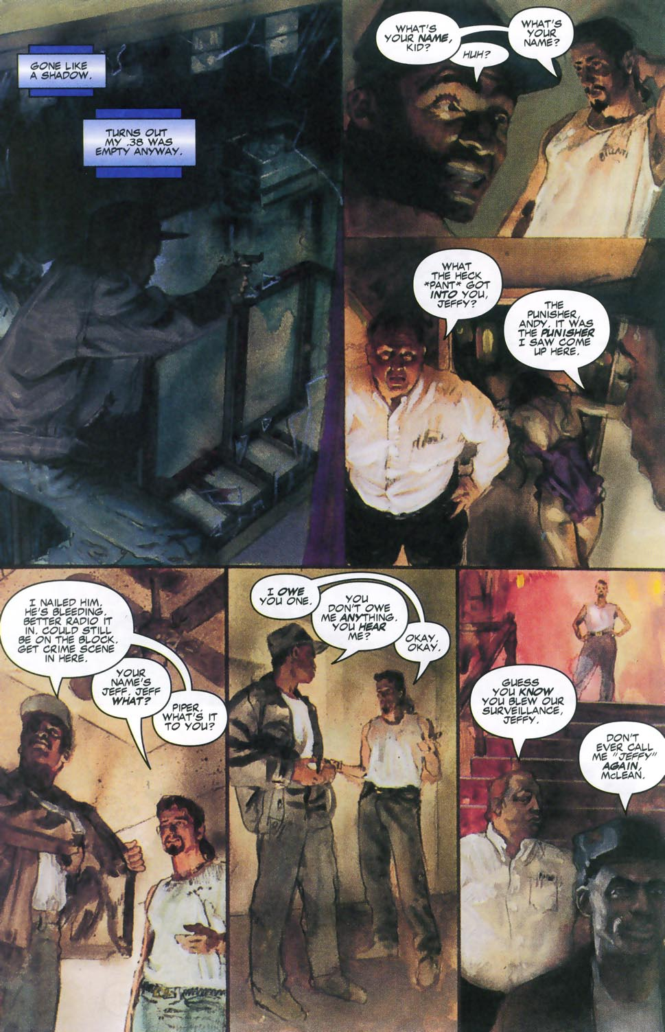 Read online Code of Honor comic -  Issue #2 - 25
