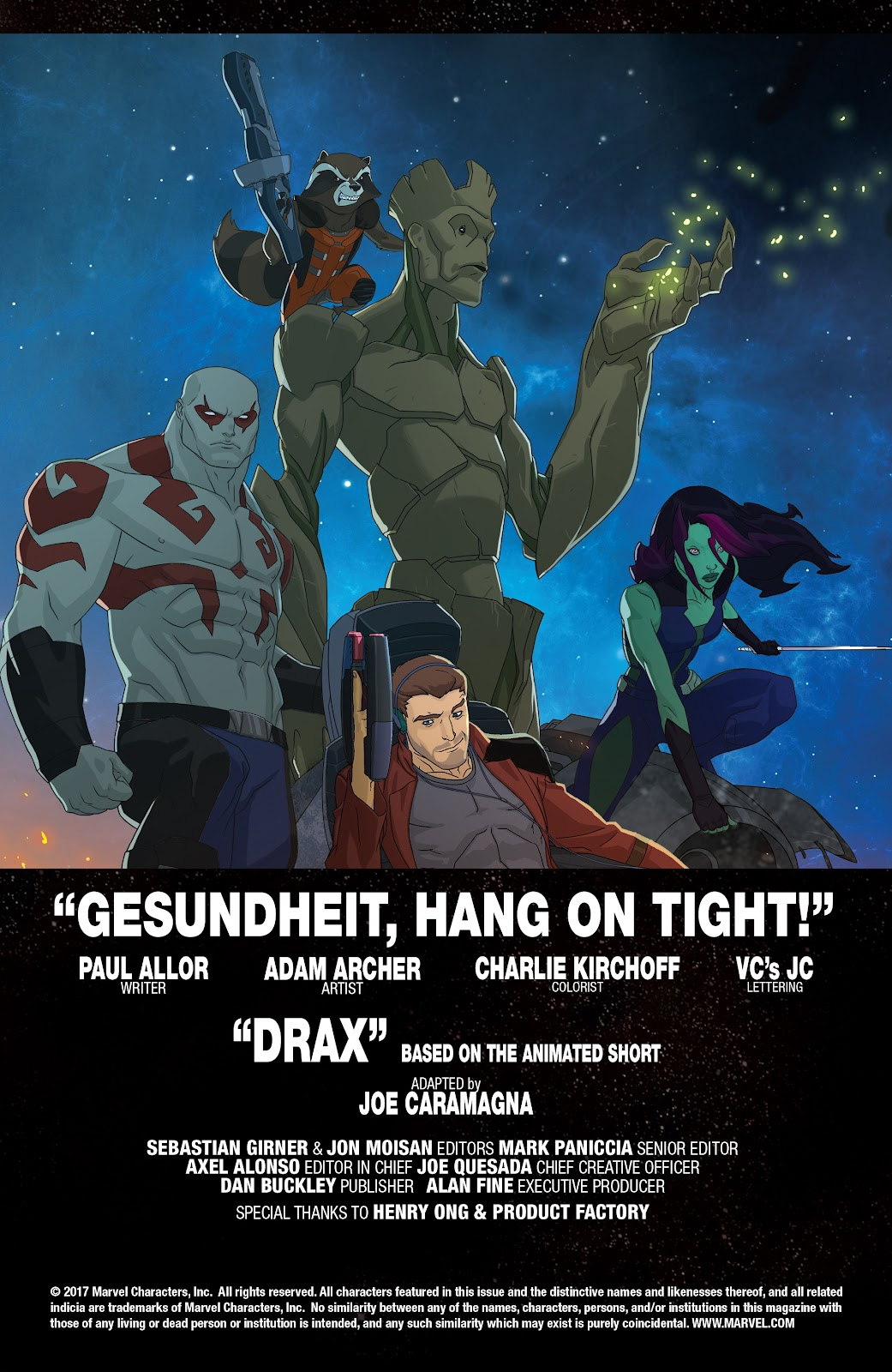 Read online Marvel Universe Guardians of the Galaxy [I] comic -  Issue #3 - 2
