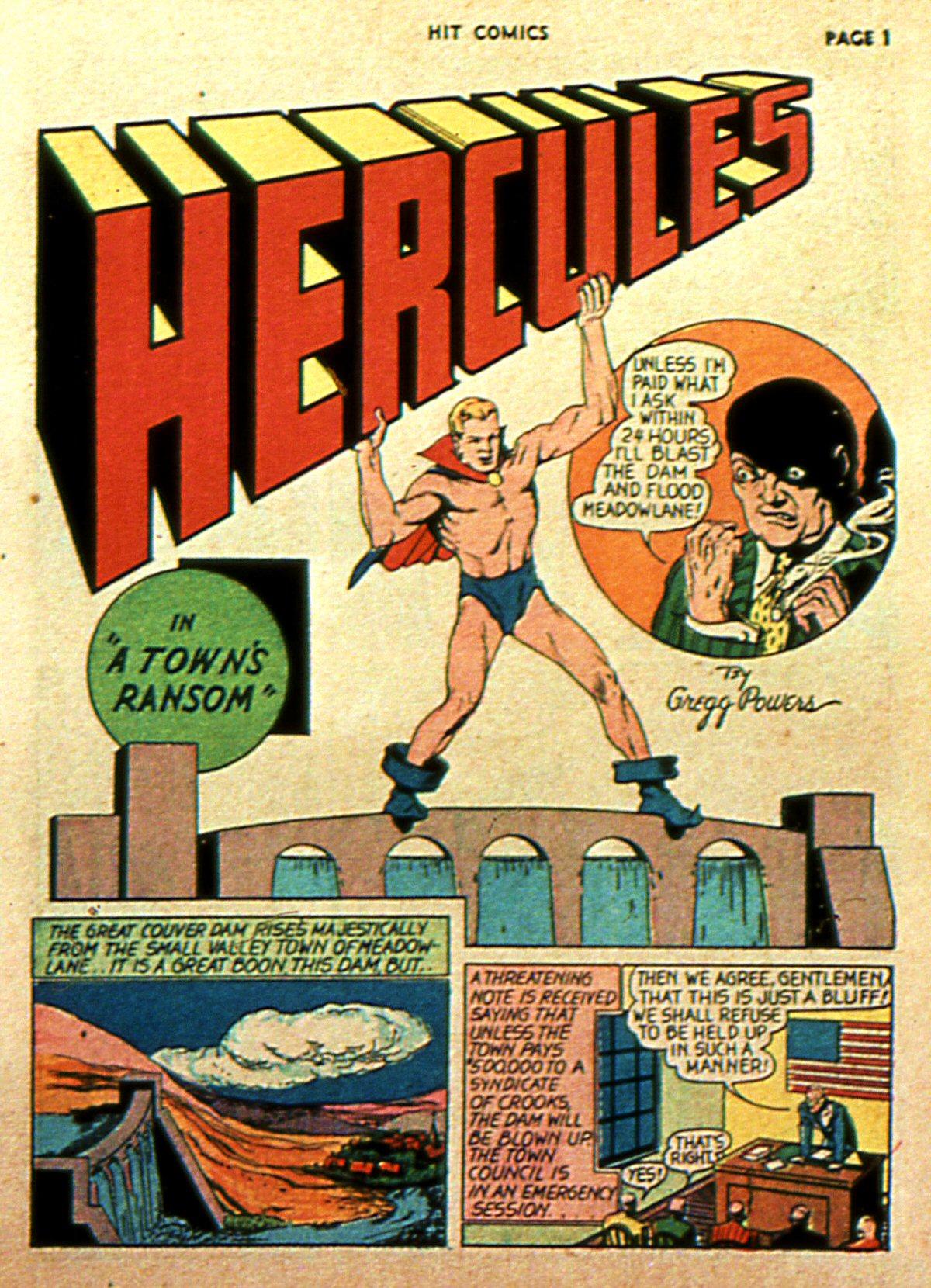 Read online Hit Comics comic -  Issue #2 - 3