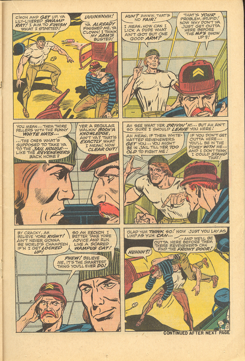 Read online Sgt. Fury comic -  Issue #83 - 21
