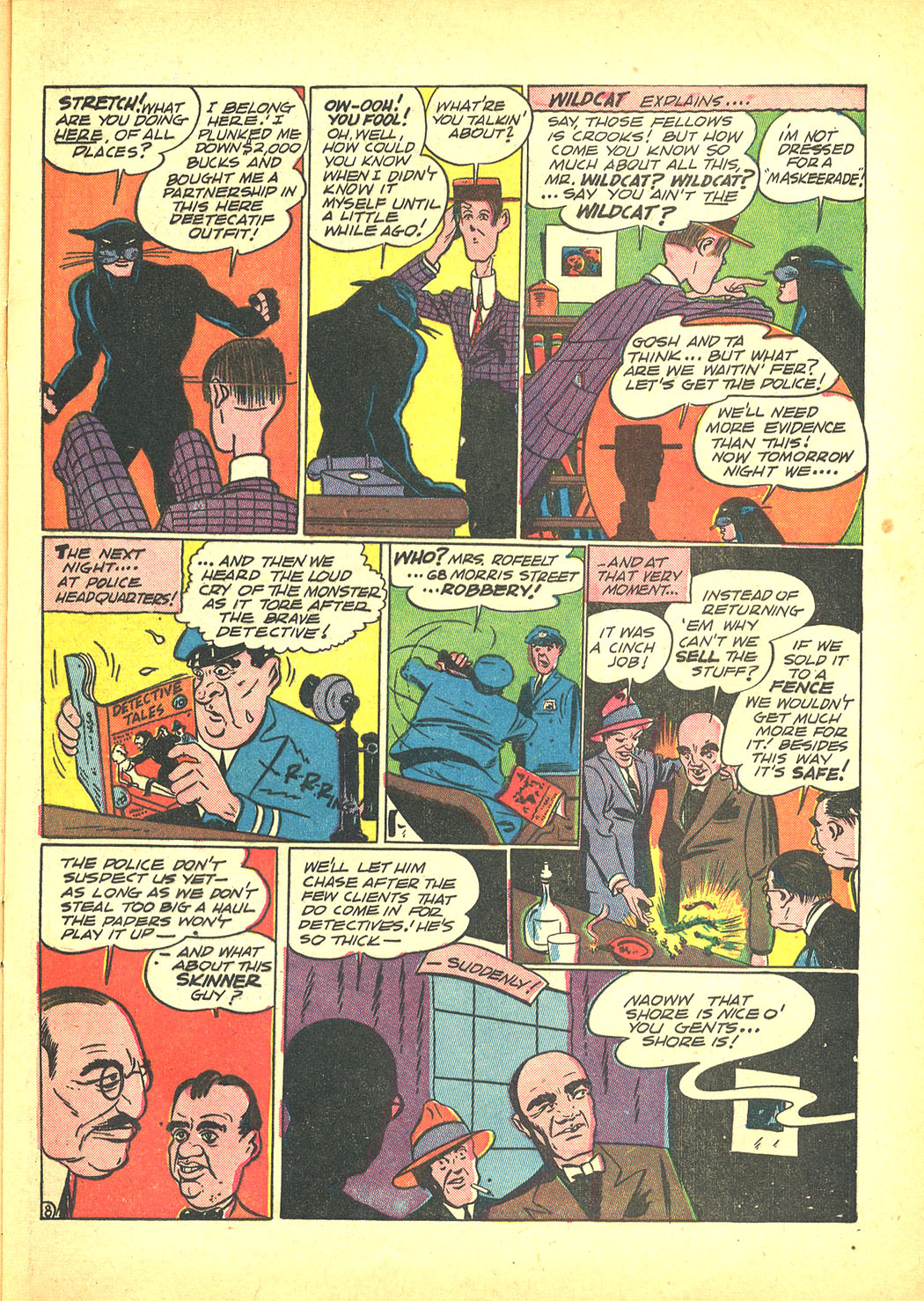 Read online Sensation (Mystery) Comics comic -  Issue #4 - 63