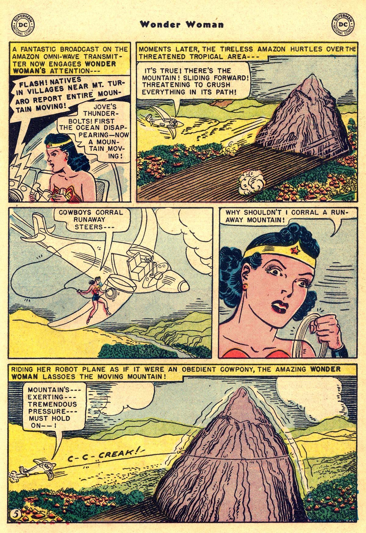 Read online Wonder Woman (1942) comic -  Issue #55 - 19