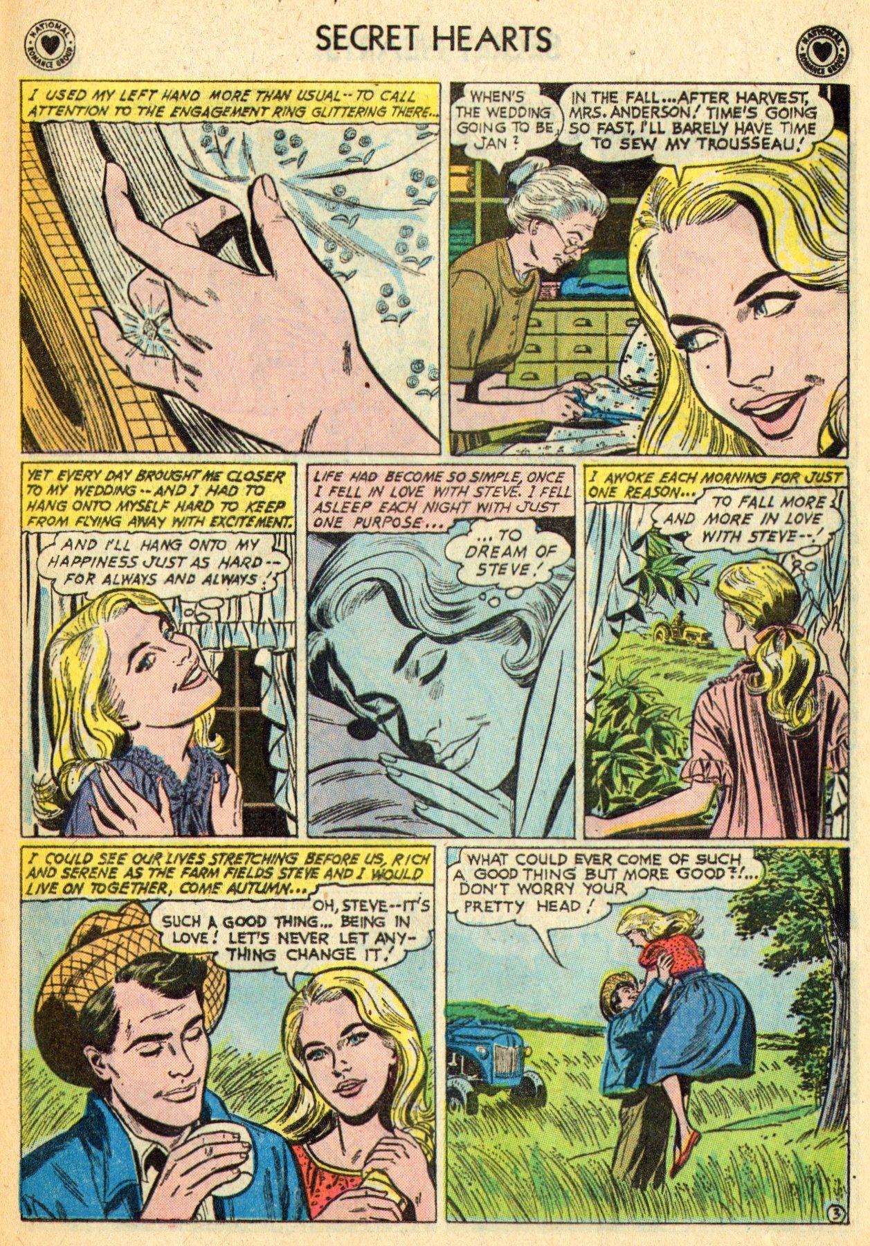 Read online Secret Hearts comic -  Issue #70 - 5