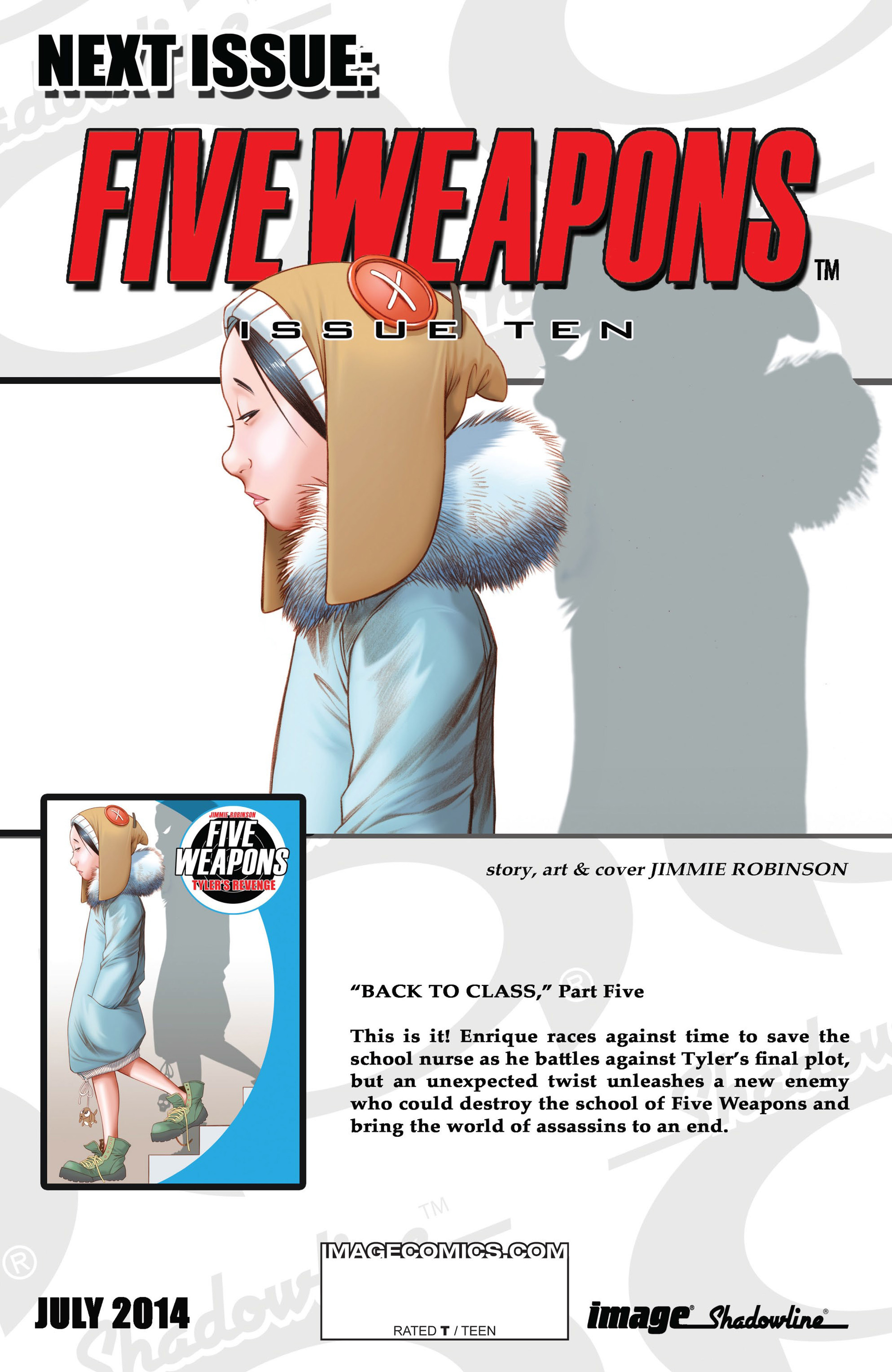 Read online Five Weapons comic -  Issue #9 - 31