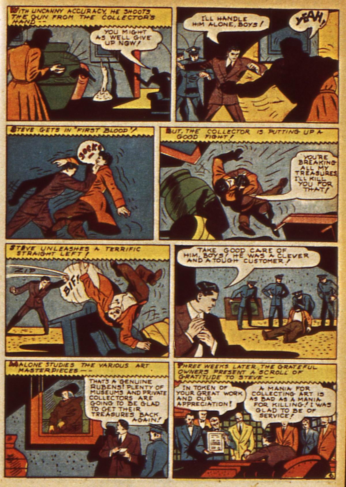Read online Detective Comics (1937) comic -  Issue #47 - 49