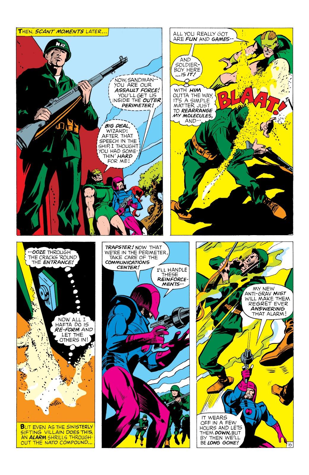 Read online Marvel Masterworks: The Inhumans comic -  Issue # TPB 1 (Part 1) - 59