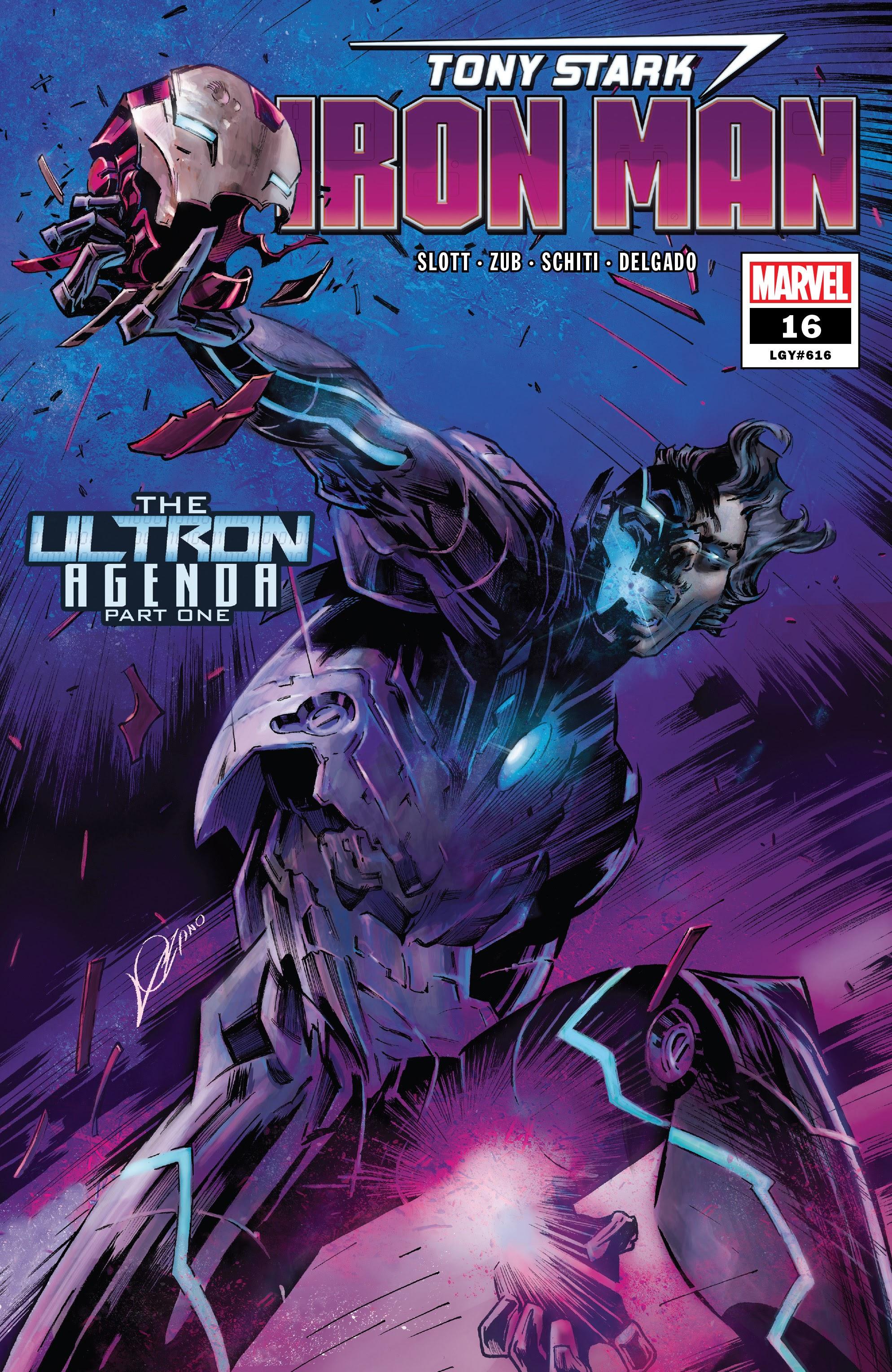 Tony Stark: Iron Man 16 Page 1