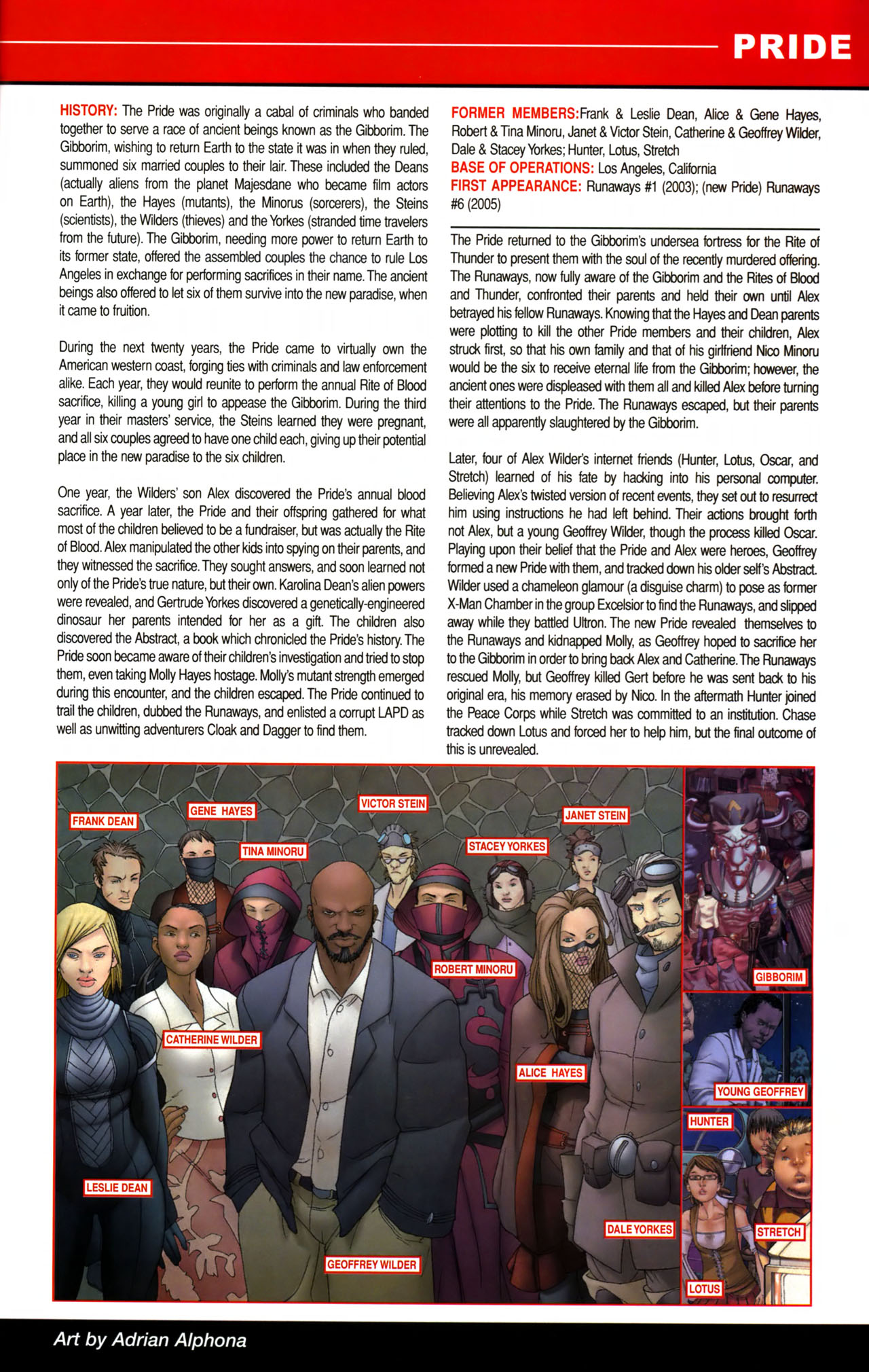 Read online All-New Official Handbook of the Marvel Universe A to Z comic -  Issue #8 - 55