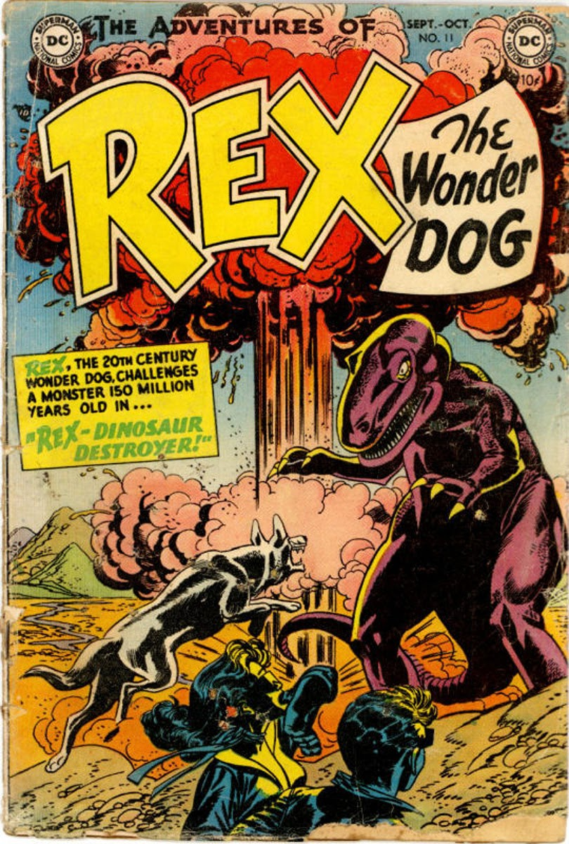 The Adventures of Rex the Wonder Dog issue 11 - Page 1
