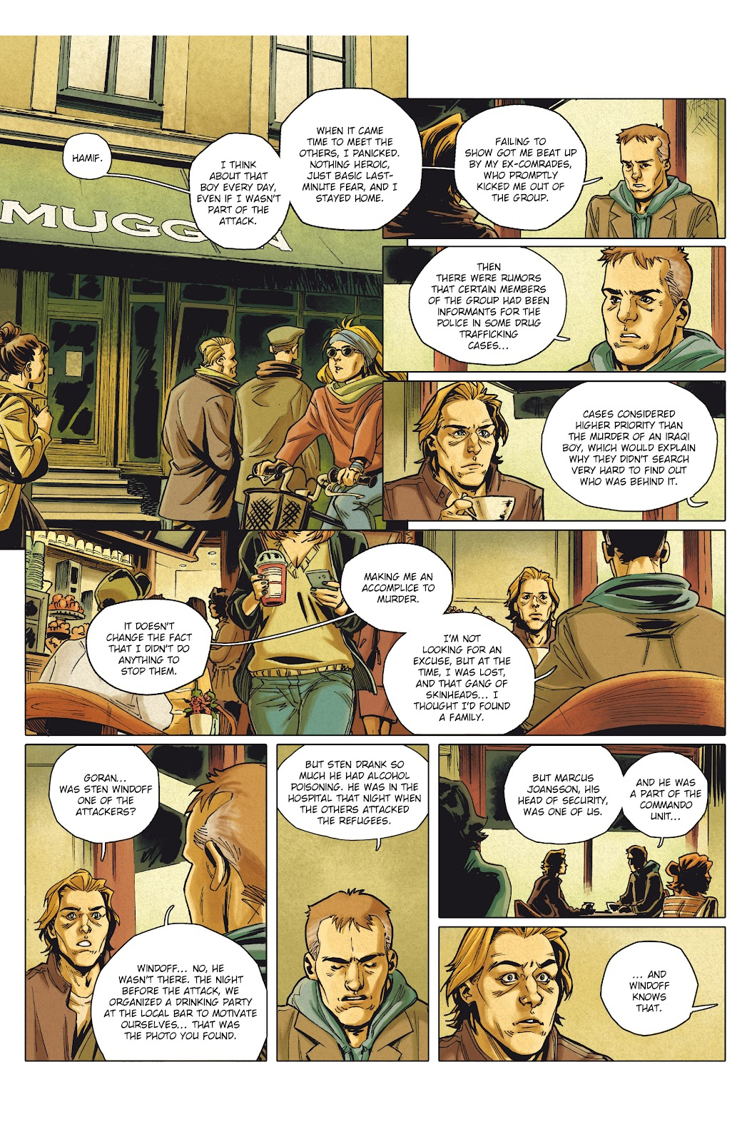 Read online Millennium: The Girl Who Danced With Death comic -  Issue #1 - 43