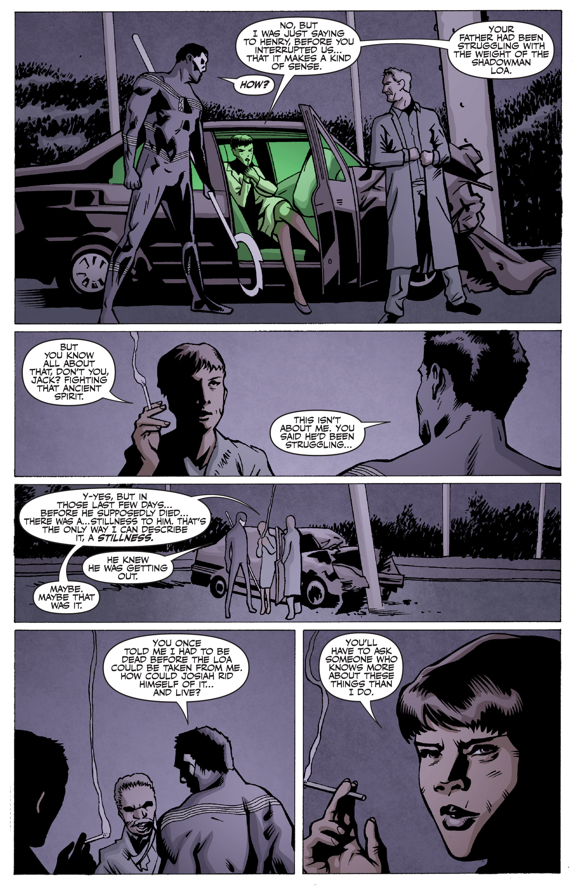 Read online Shadowman: End Times comic -  Issue #2 - 10