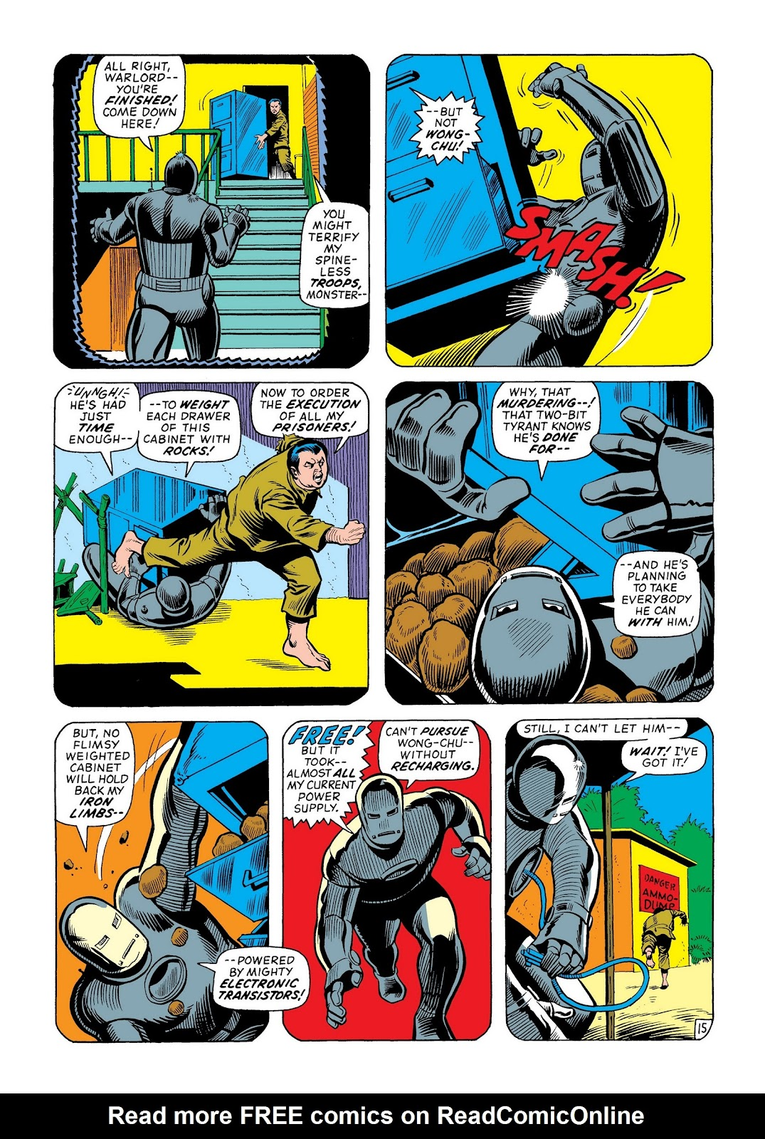 Read online Marvel Masterworks: The Invincible Iron Man comic -  Issue # TPB 8 (Part 2) - 81
