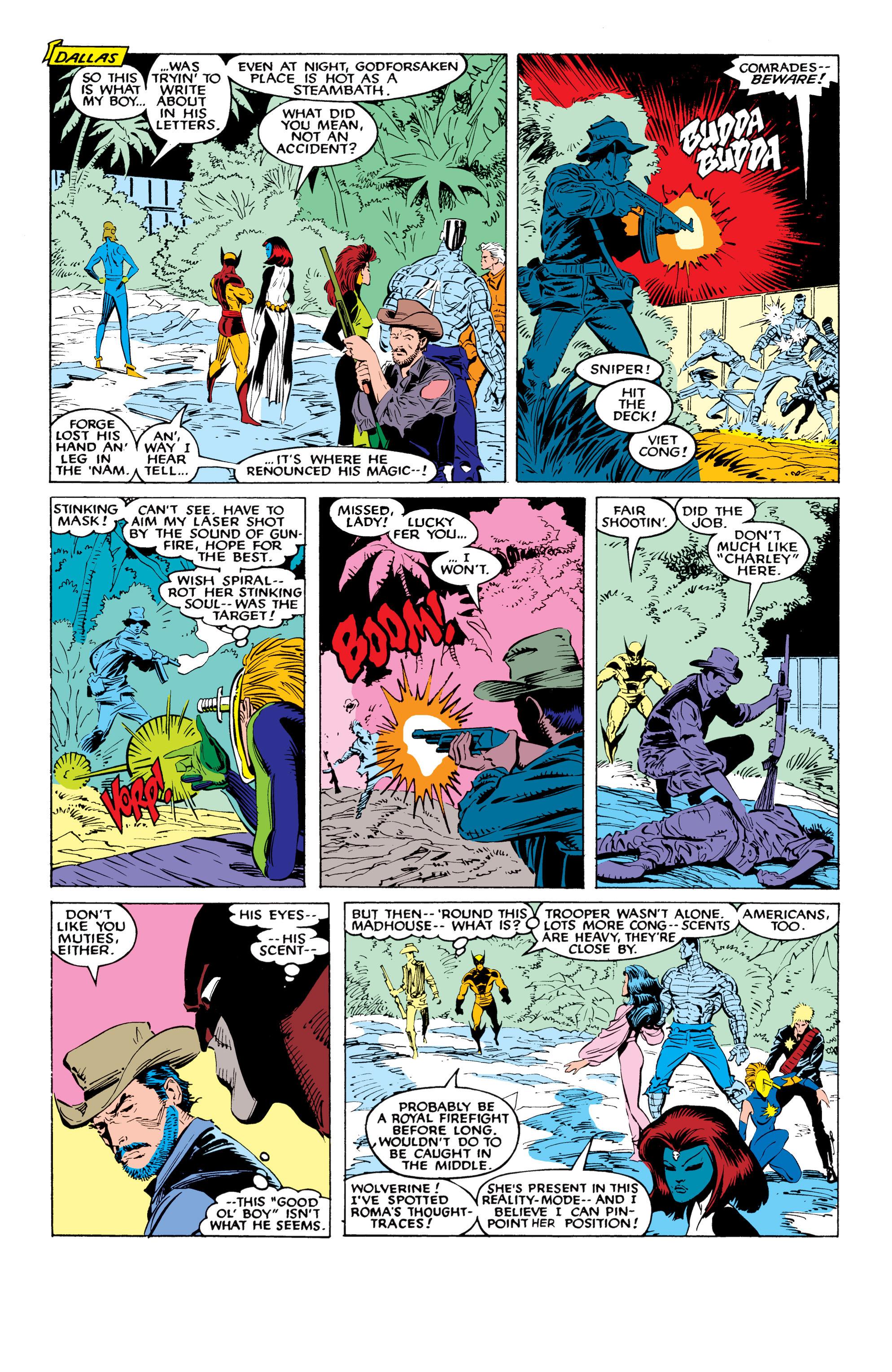 Read online Uncanny X-Men (1963) comic -  Issue #226 - 33