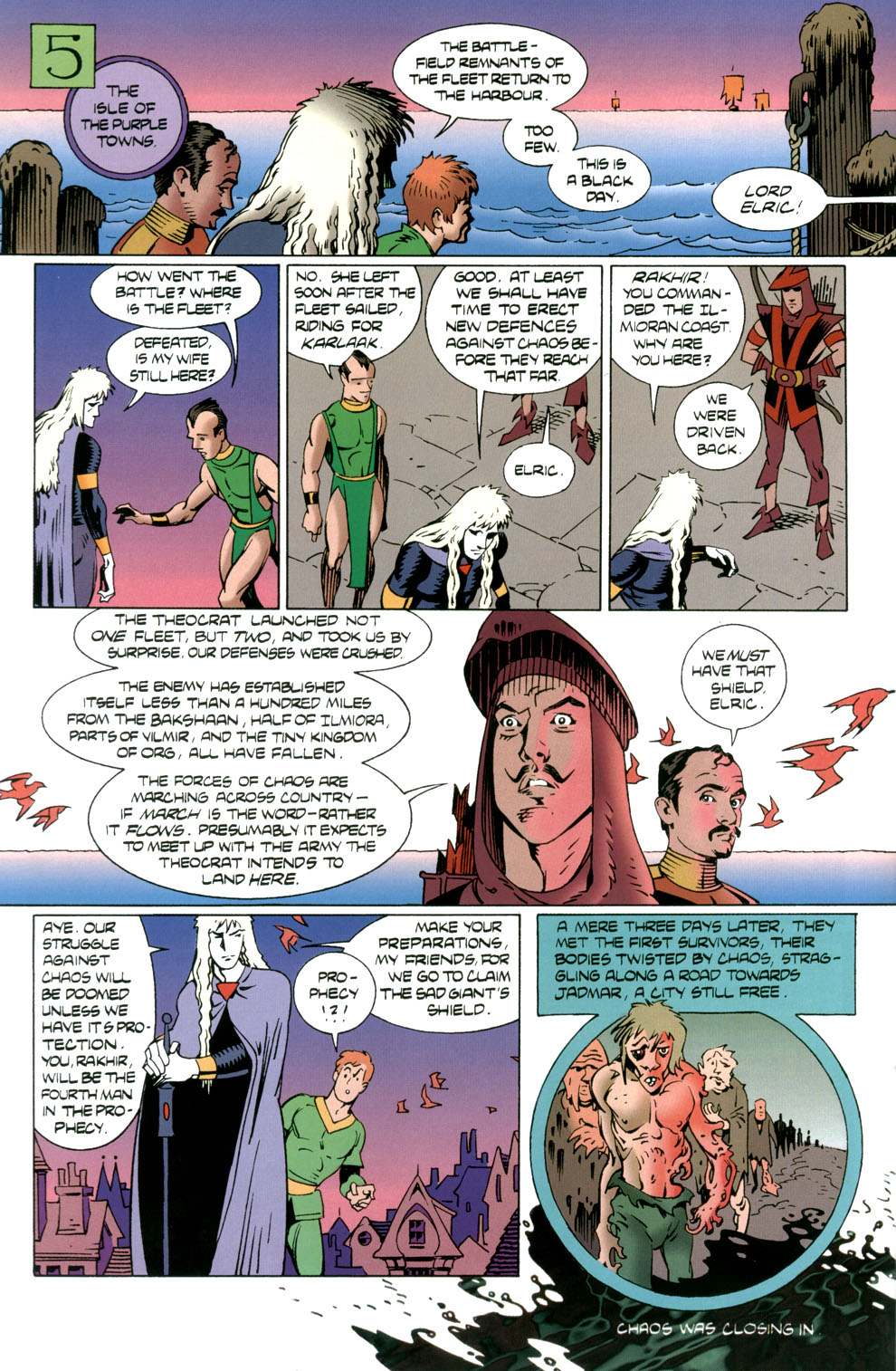 Read online Elric: Stormbringer comic -  Issue #5 - 8