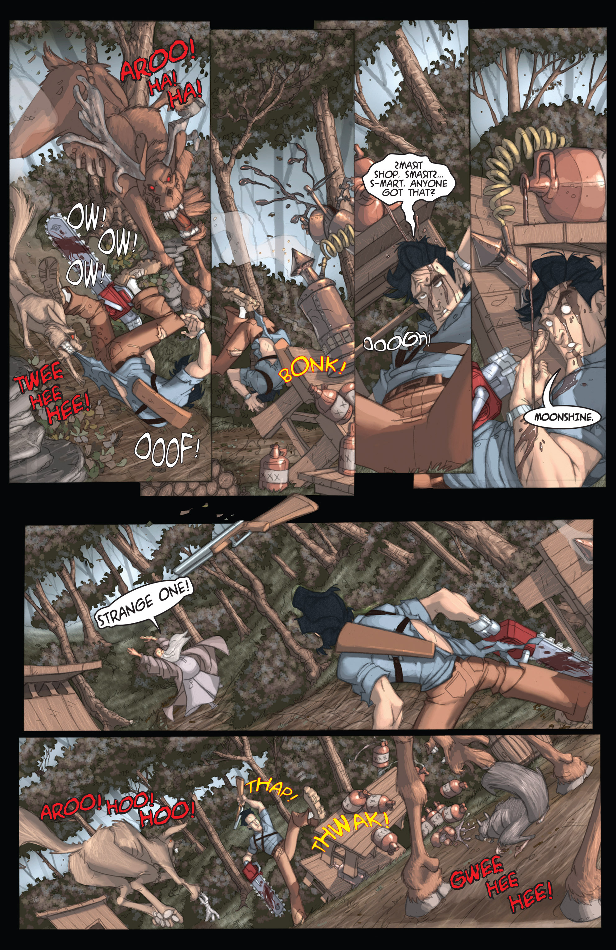 Read online Army of Darkness: Ashes 2 Ashes comic -  Issue #1 - 27