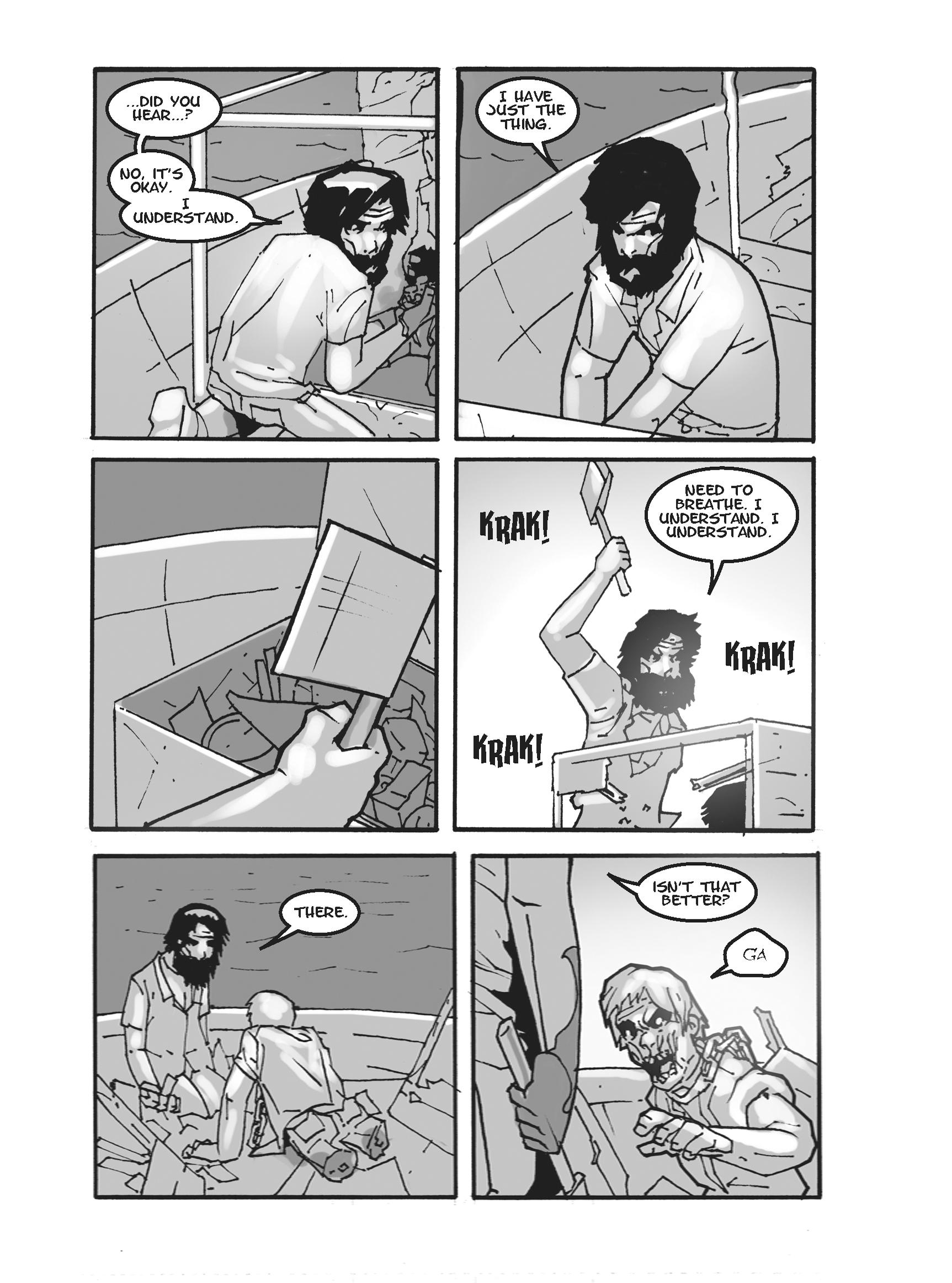 Read online FUBAR comic -  Issue #2 - 197