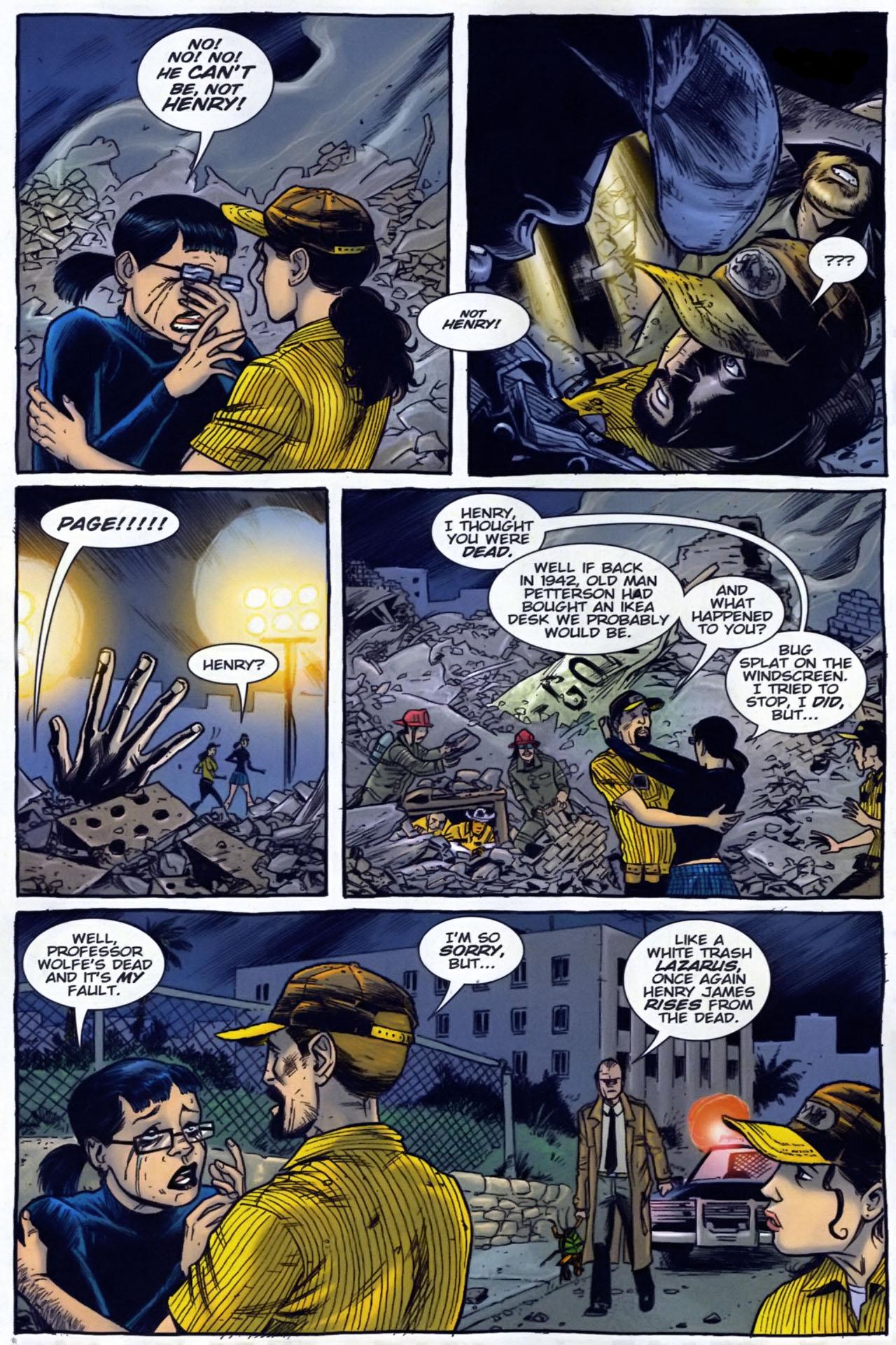 Read online The Exterminators comic -  Issue #29 - 3