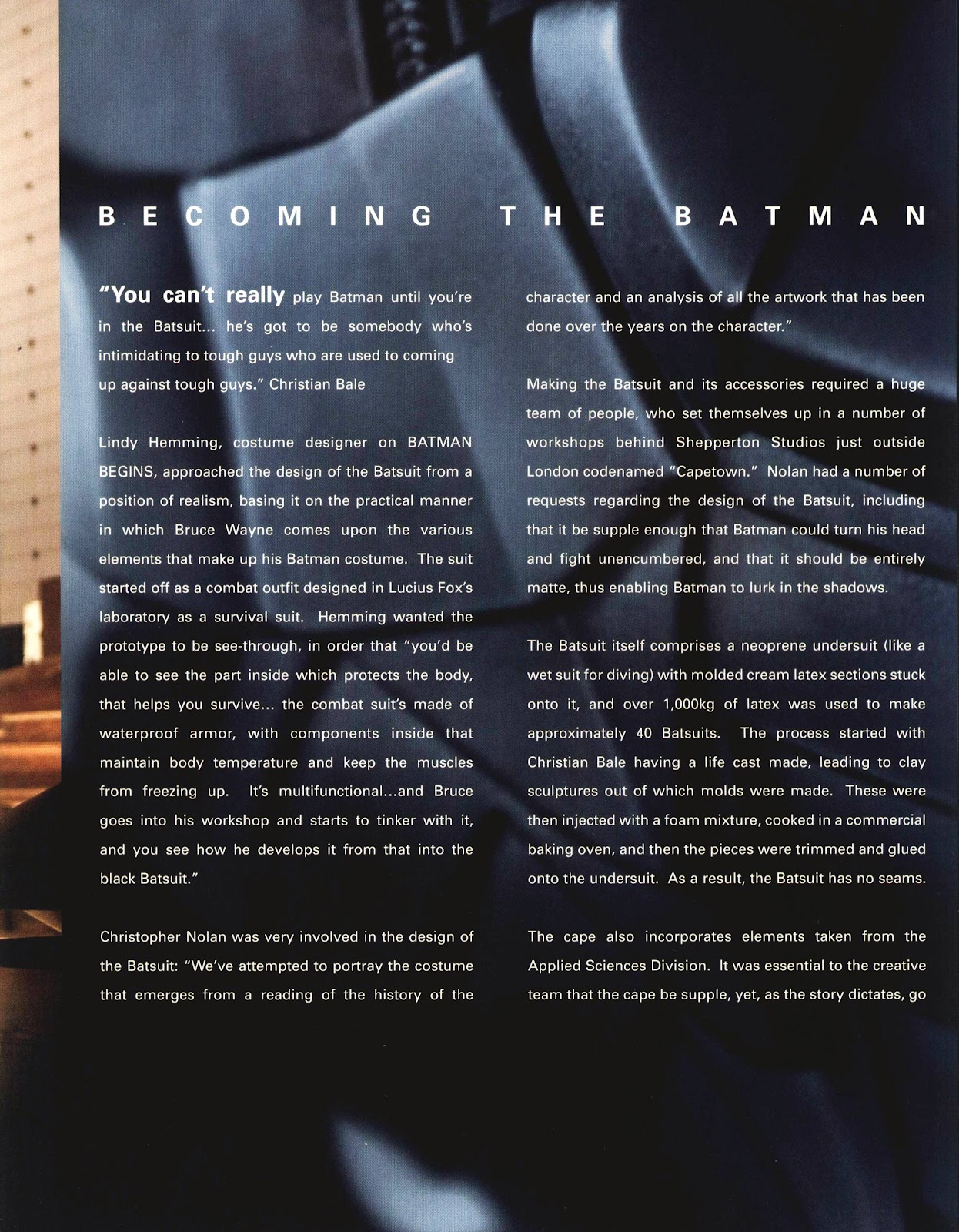 Read online Batman Begins: The Official Movie Guide comic -  Issue # TPB (Part 1) - 84