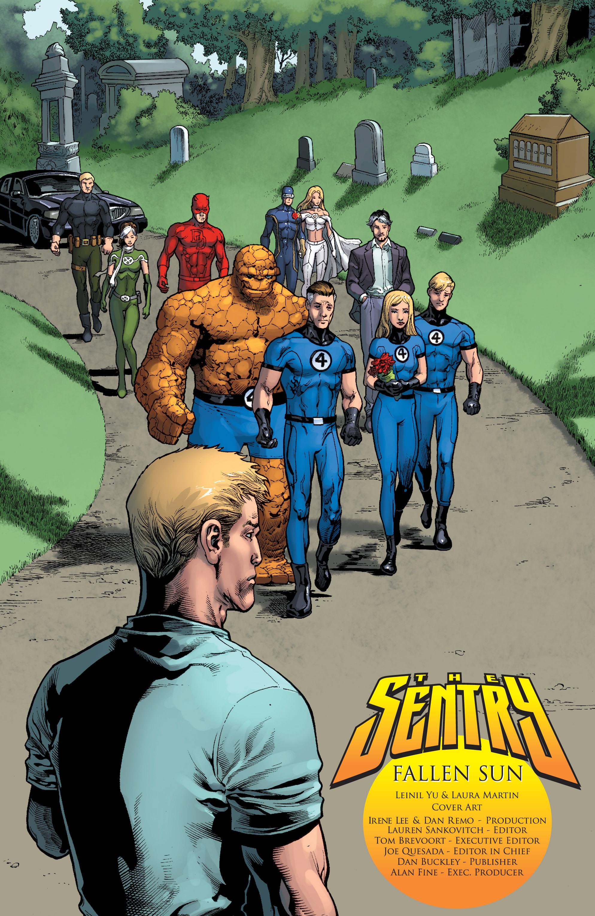Read online Sentry: Fallen Sun comic -  Issue # Full - 5