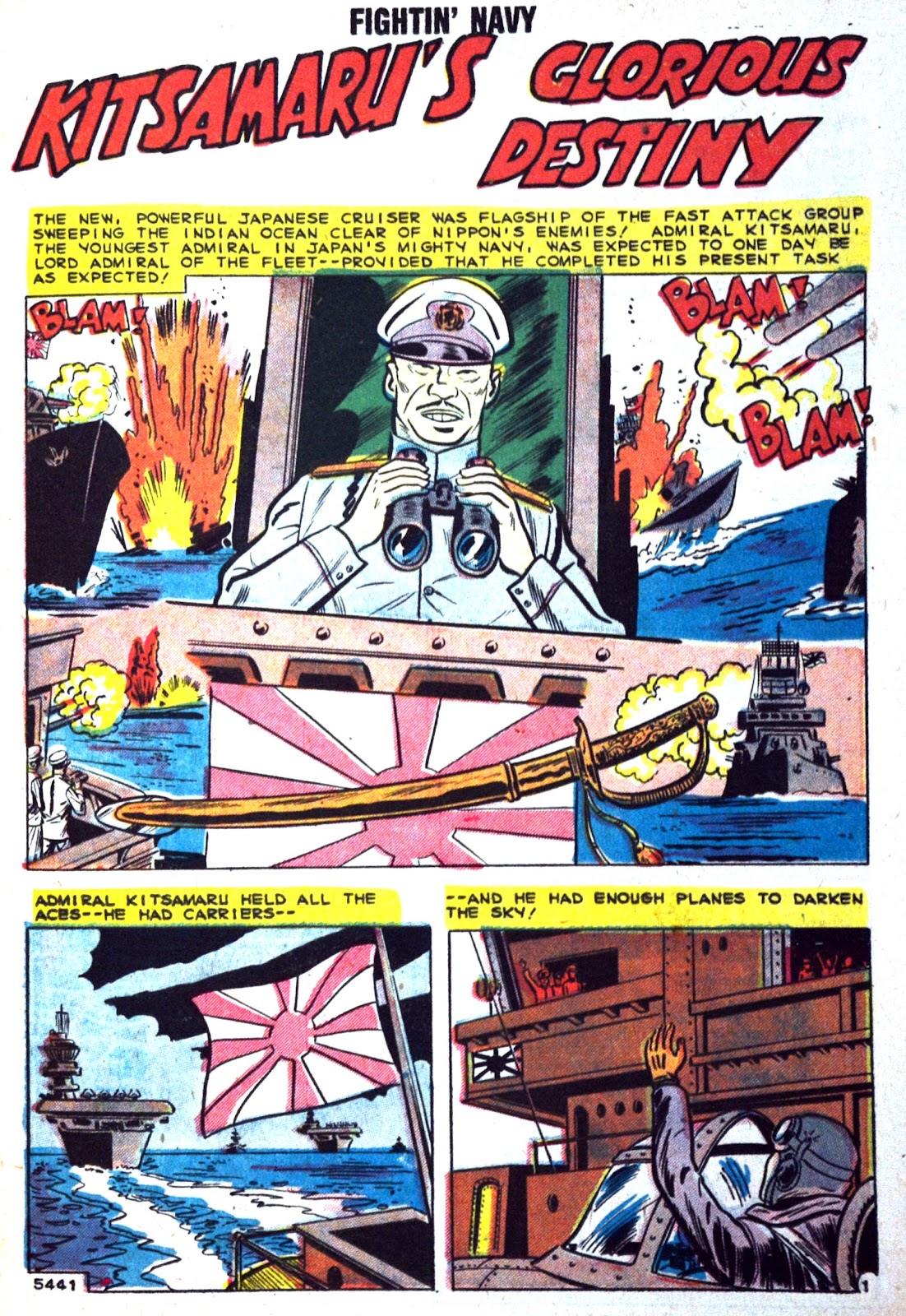 Read online Fightin' Navy comic -  Issue #89 - 19