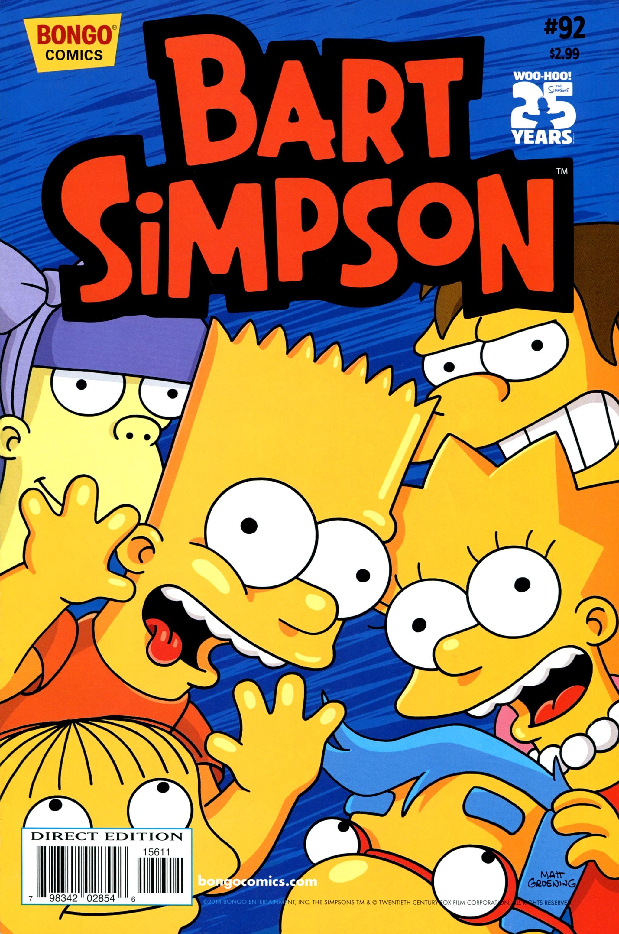 Read online Simpsons Comics Presents Bart Simpson comic -  Issue #92 - 1