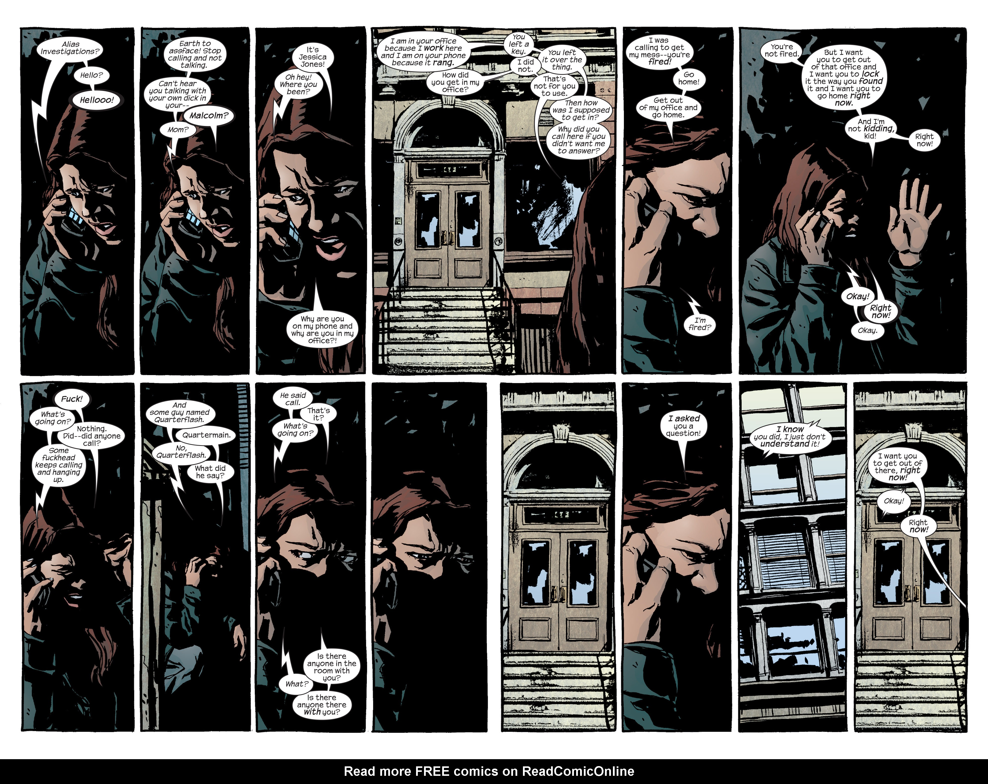 Read online Alias comic -  Issue #27 - 14