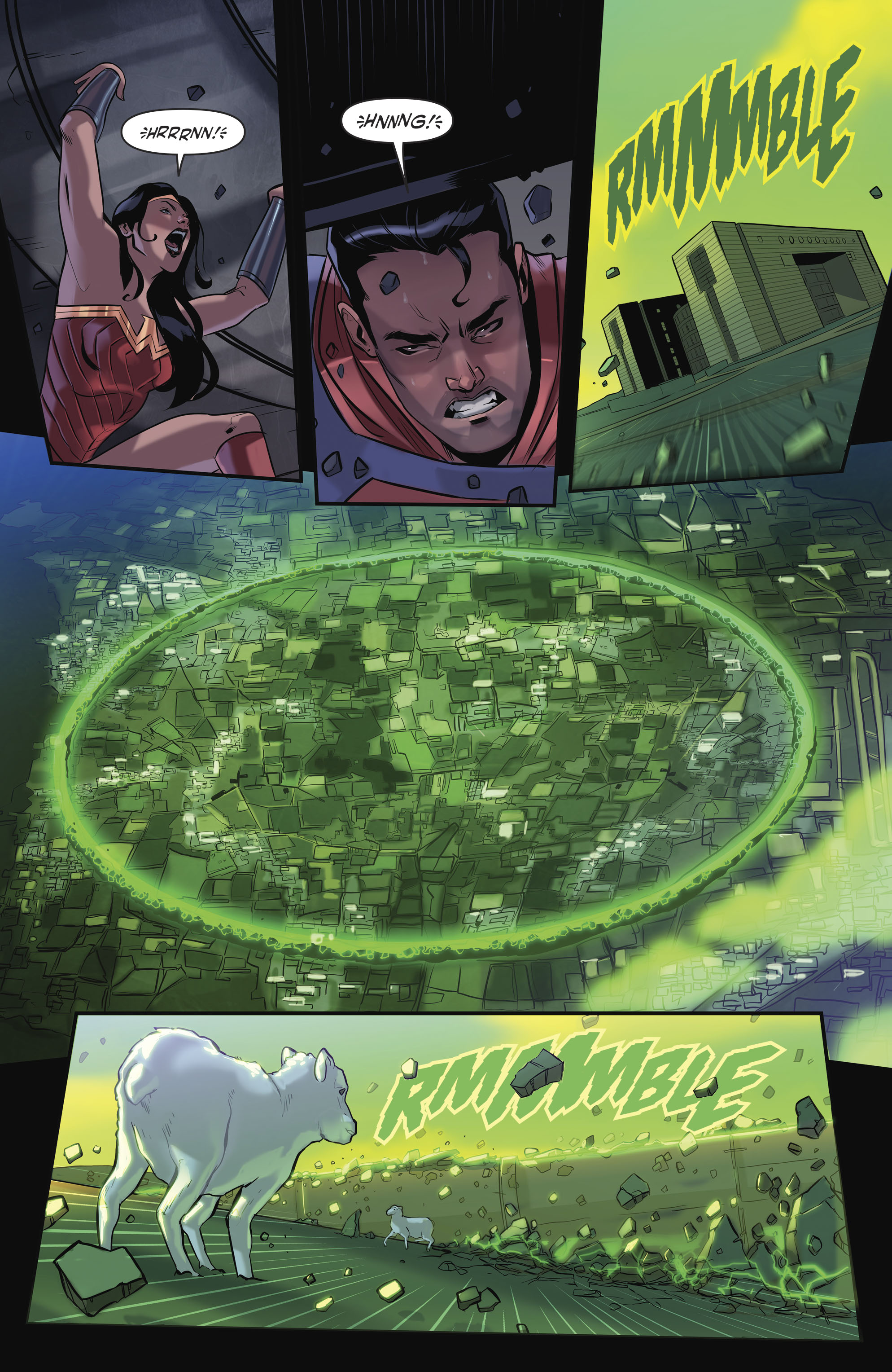 Read online Justice League/Mighty Morphin' Power Rangers comic -  Issue #4 - 7