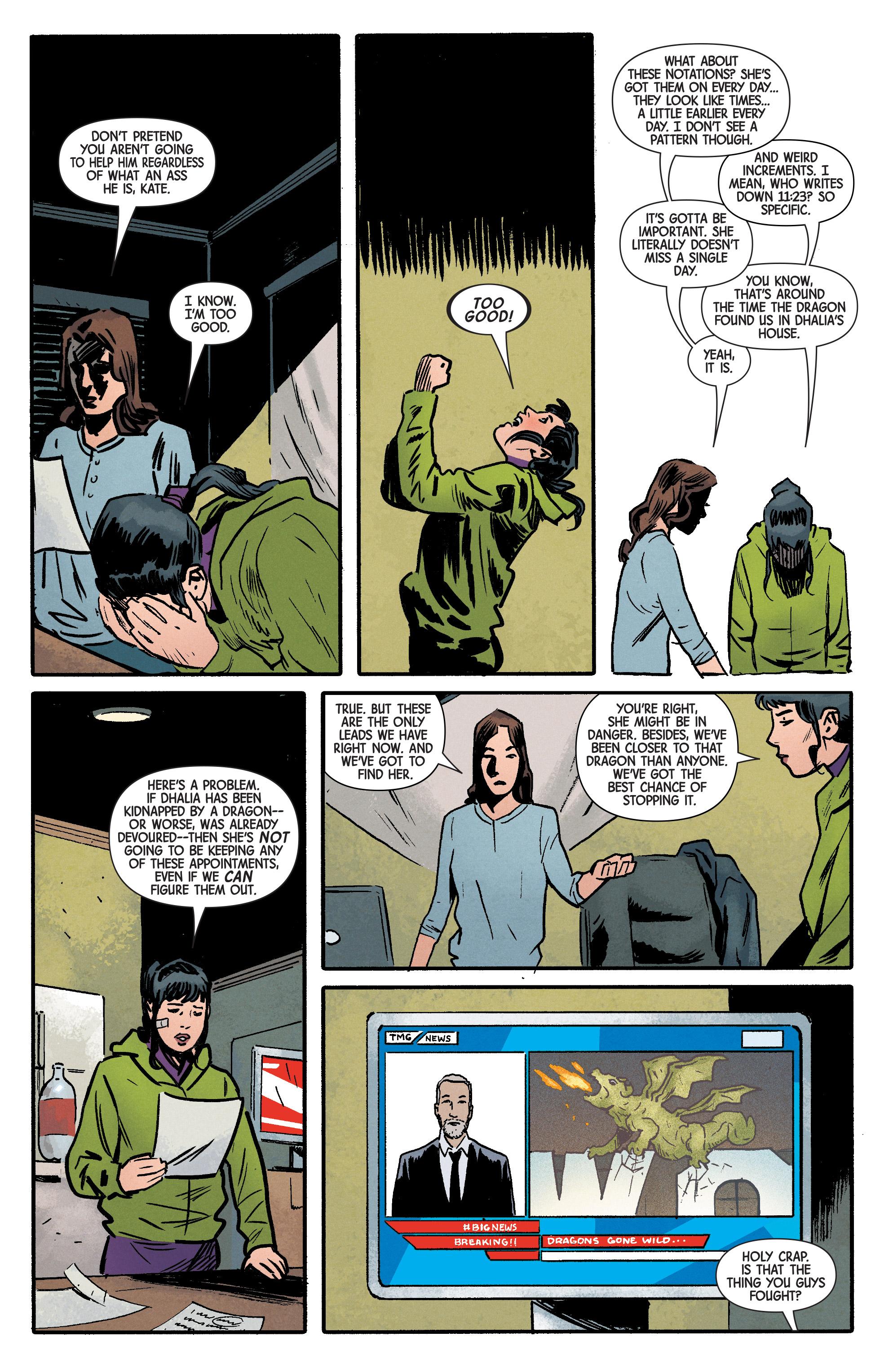 Read online Hawkeye (2016) comic -  Issue #6 - 5