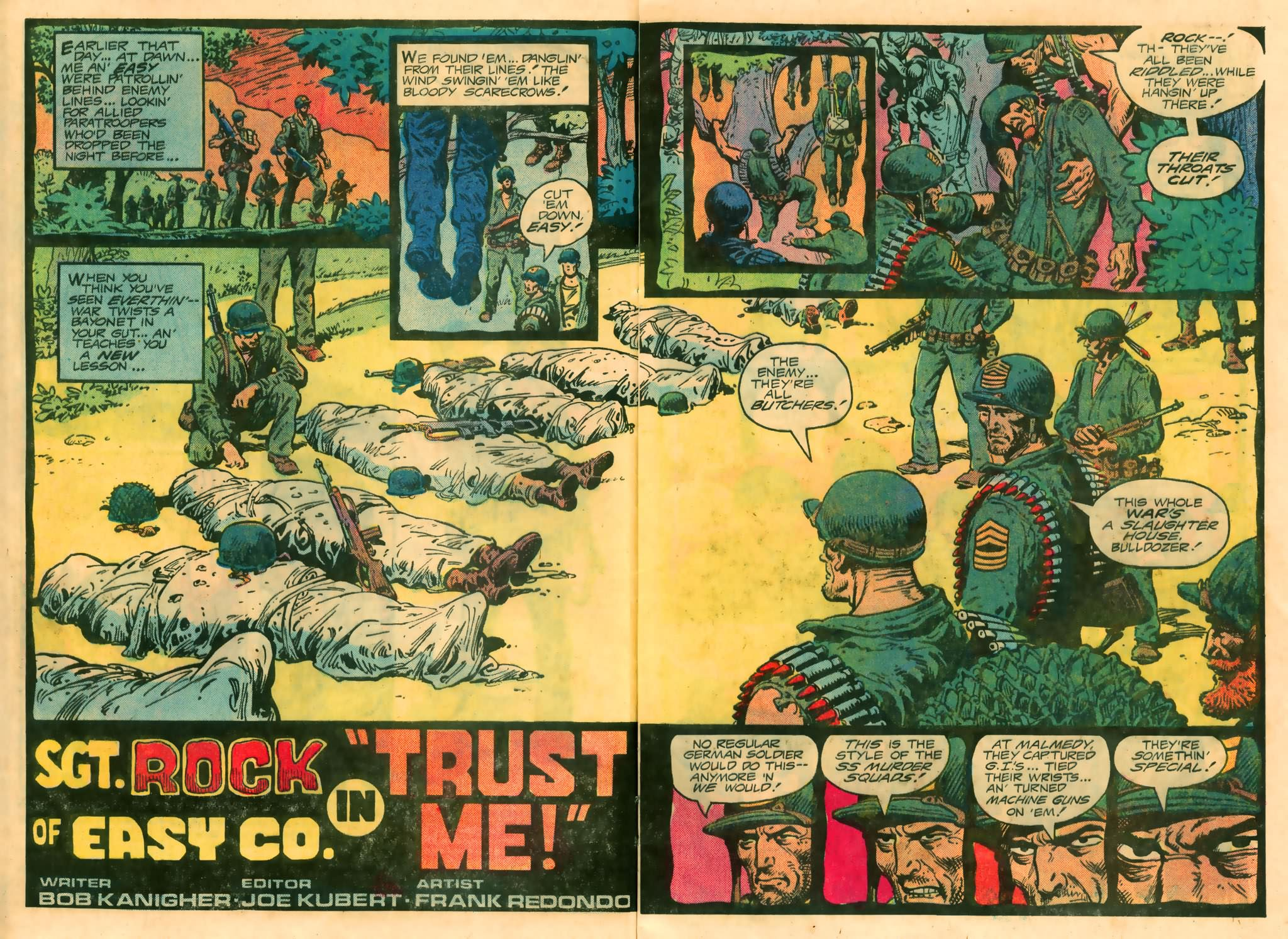 Read online Sgt. Rock comic -  Issue #374 - 4