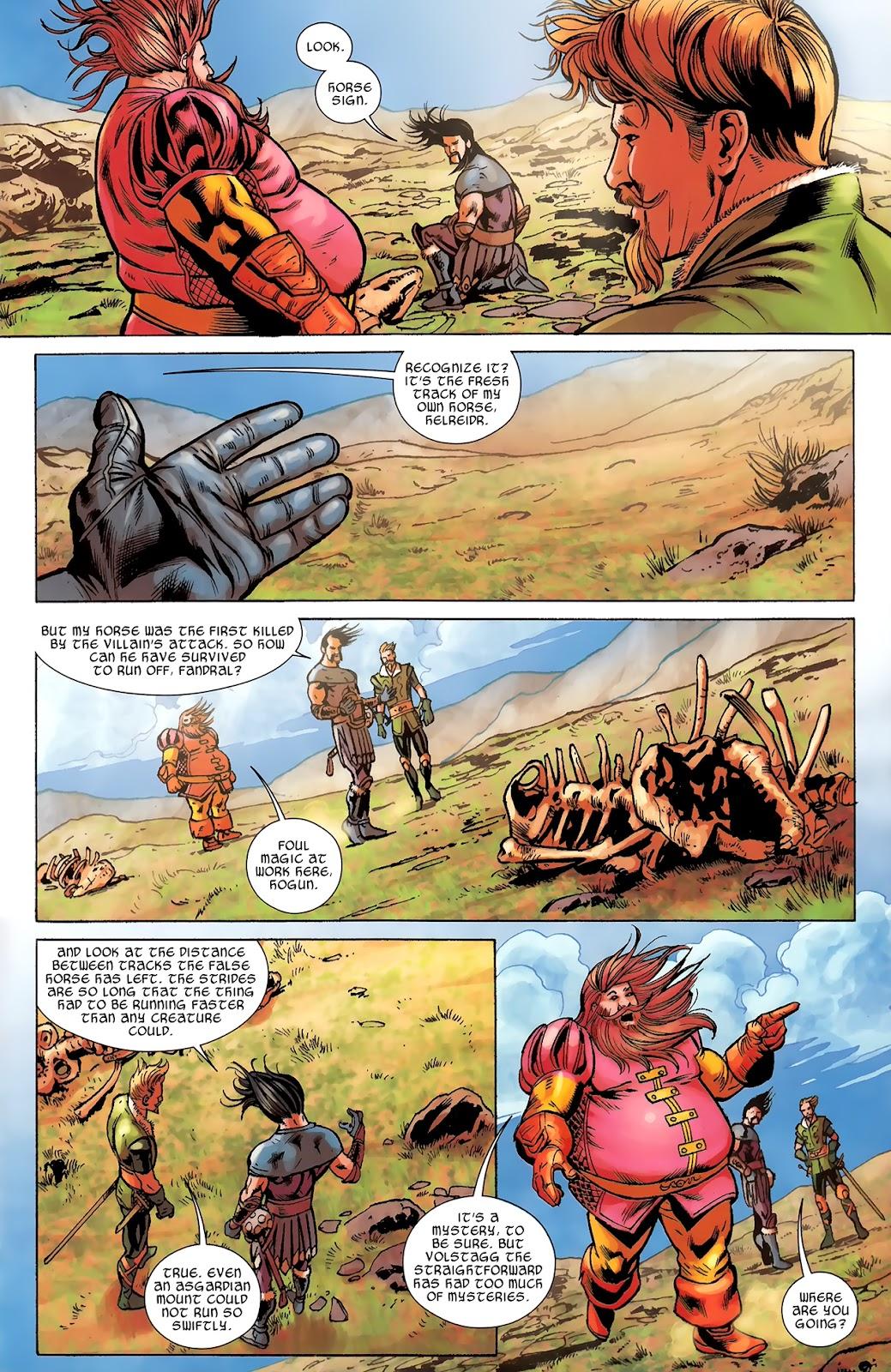 Warriors Three Issue #3 #3 - English 4