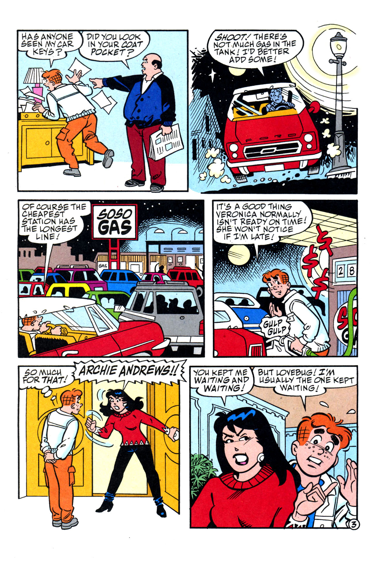 Read online Archie (1960) comic -  Issue #579 - 10