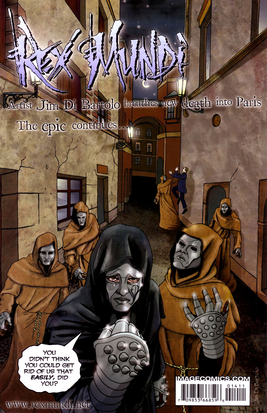 Read online Rex Mundi comic -  Issue #14 - 30