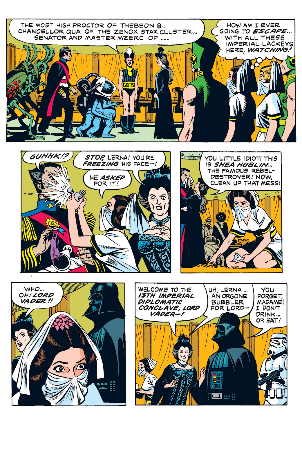 Read online Star Wars Legends: The Newspaper Strips - Epic Collection comic -  Issue # TPB (Part 2) - 64