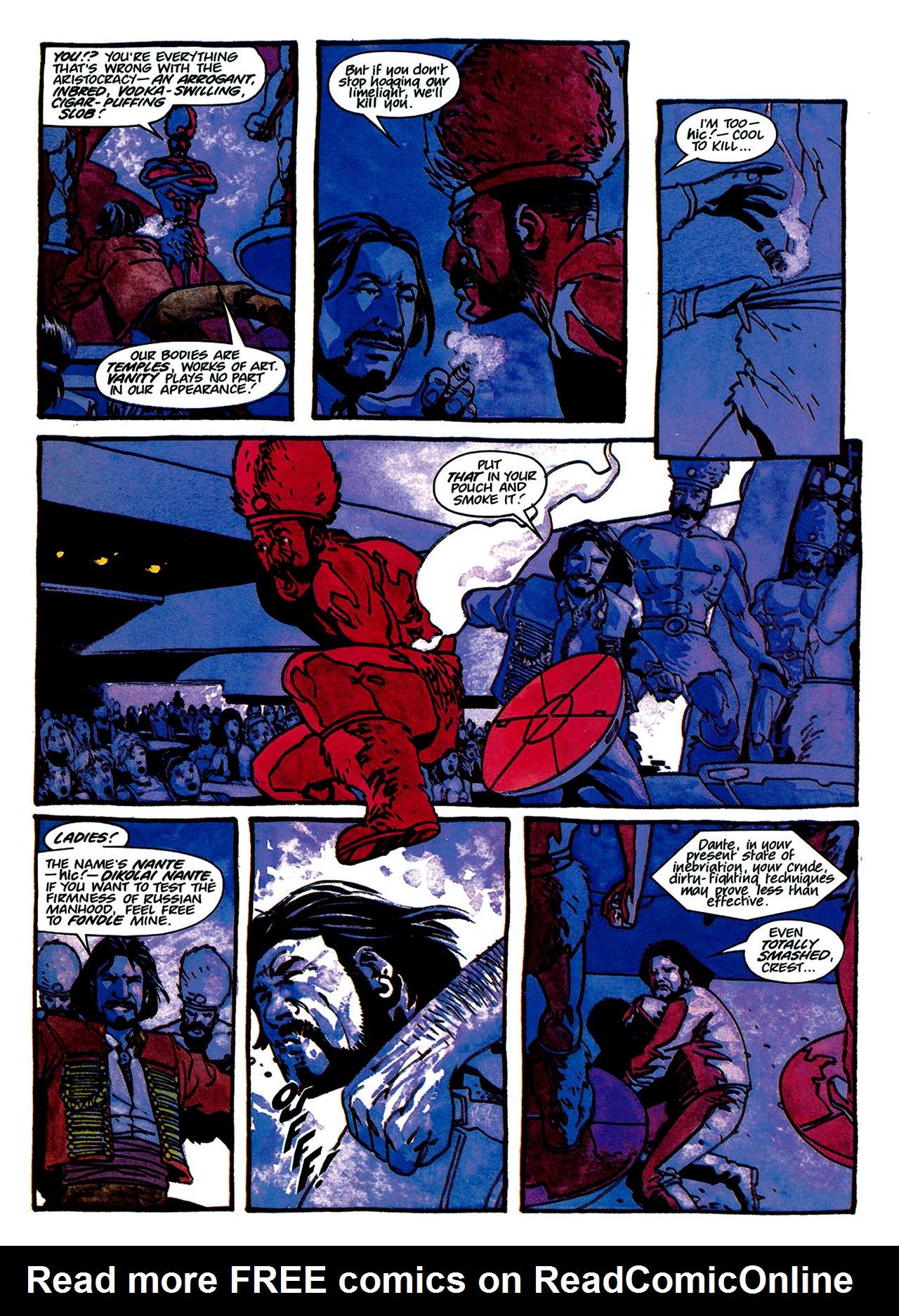 Read online Nikolai Dante comic -  Issue # TPB 1 - 127