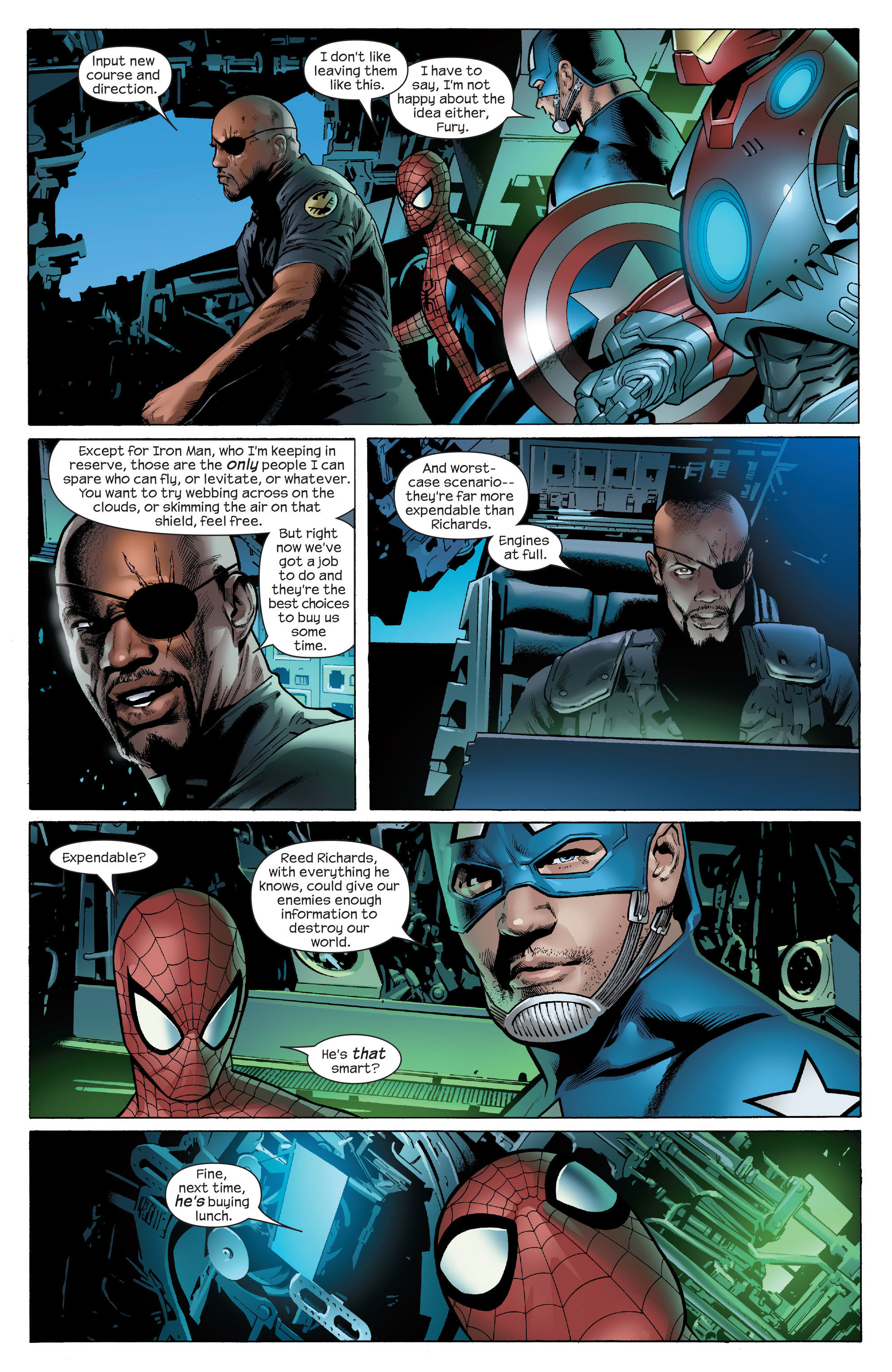 Read online Ultimate Power comic -  Issue #5 - 8