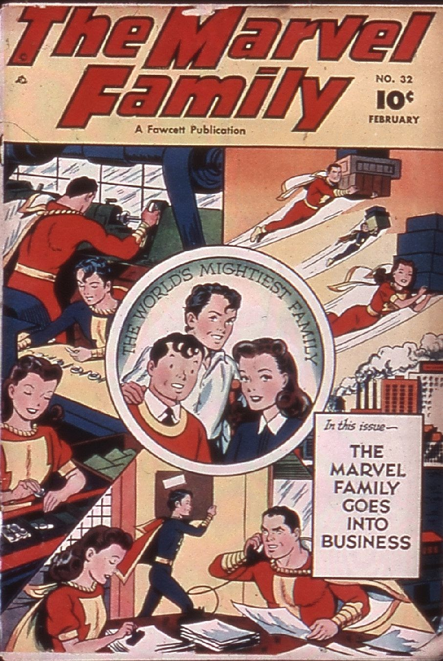 The Marvel Family 32 Page 1