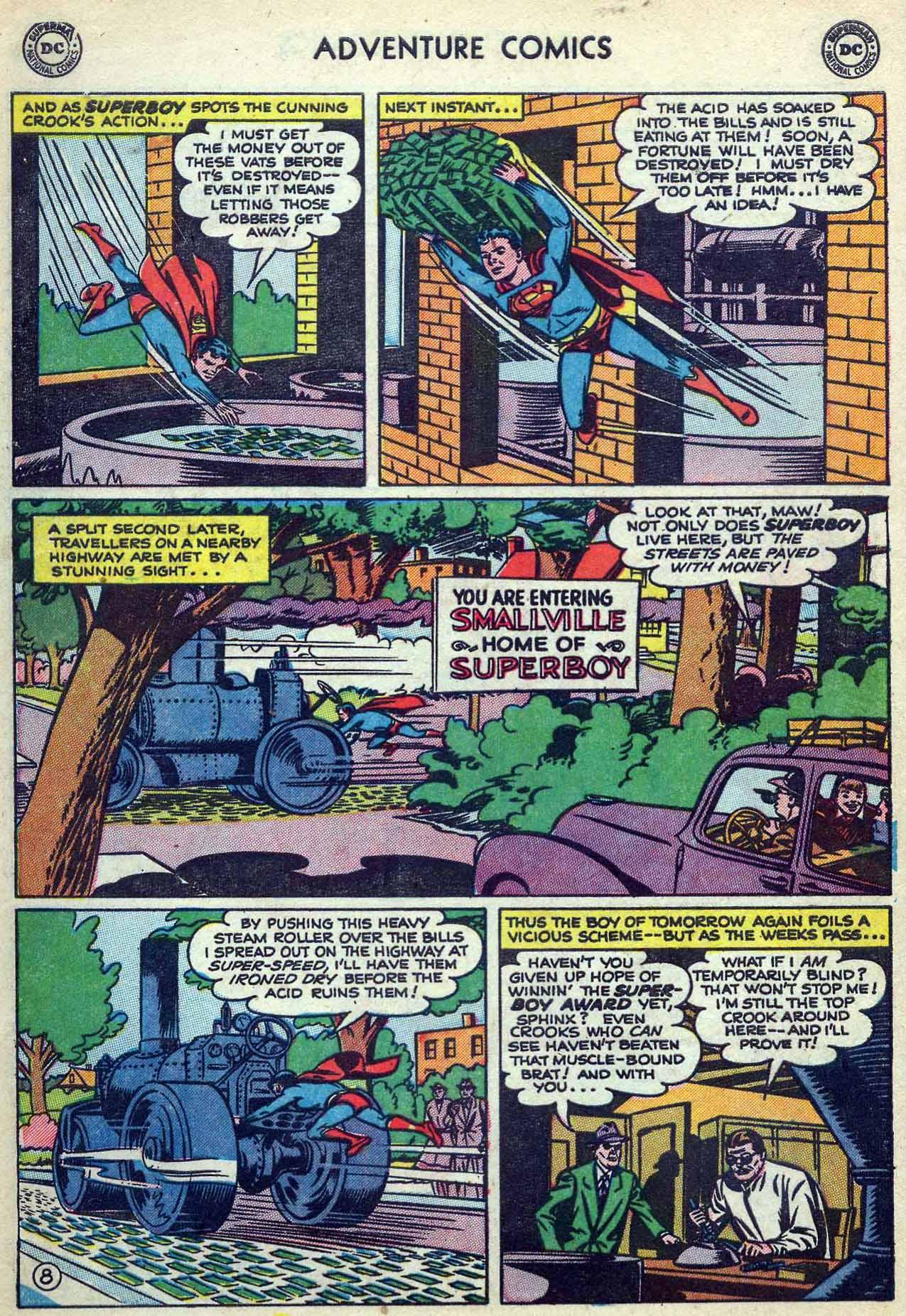 Read online Adventure Comics (1938) comic -  Issue #180 - 10