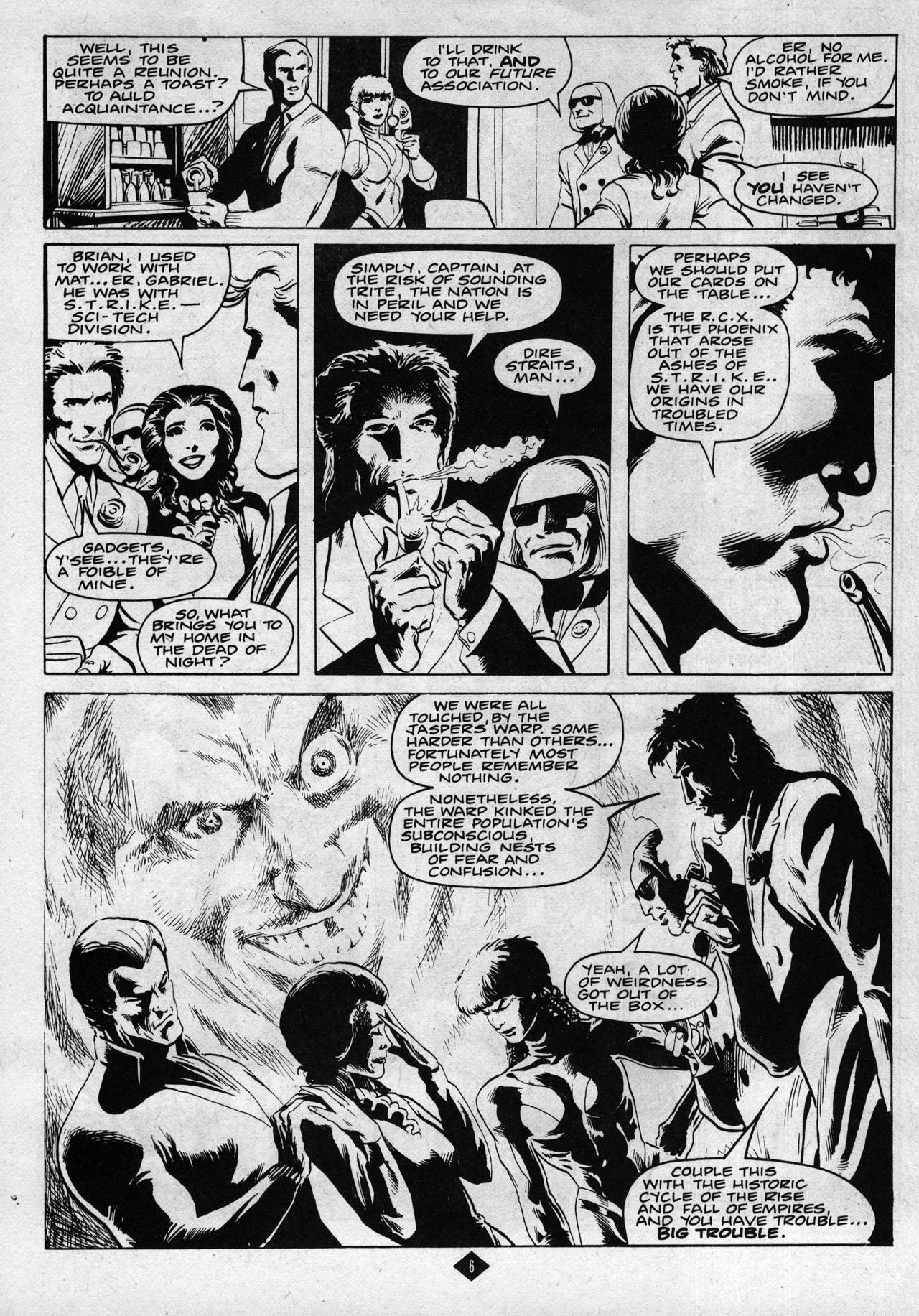 Captain Britain (1985) 8 Page 6