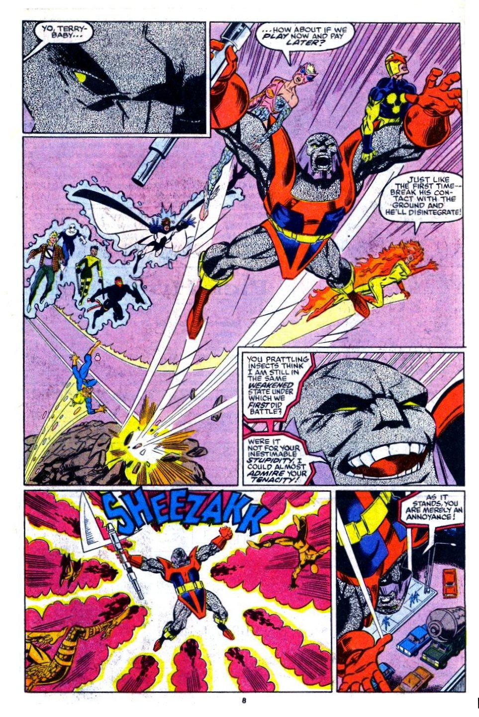 The New Warriors Issue #16 #20 - English 7