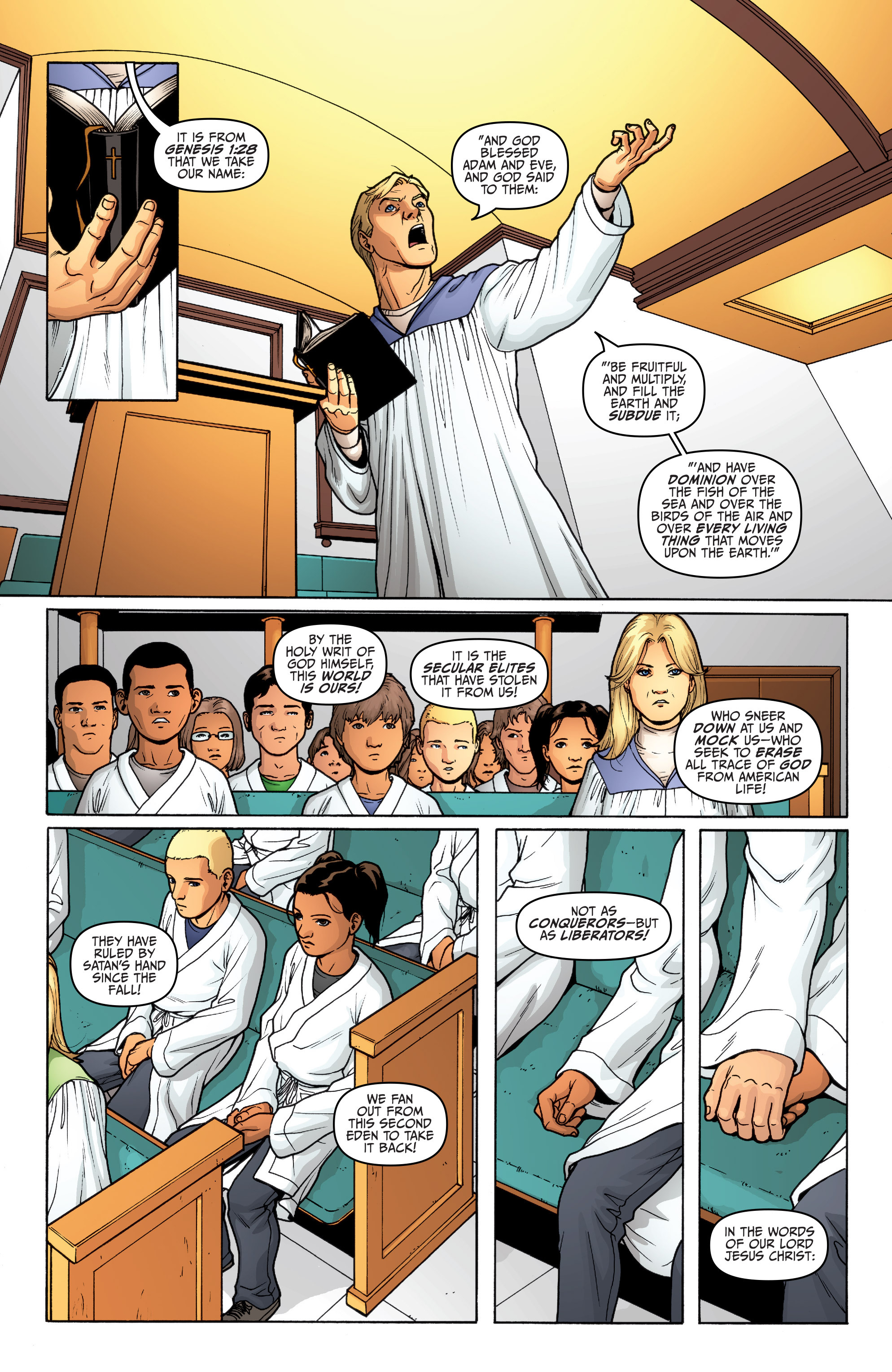 Read online Archer and Armstrong comic -  Issue #Archer and Armstrong _TPB 5 - 16