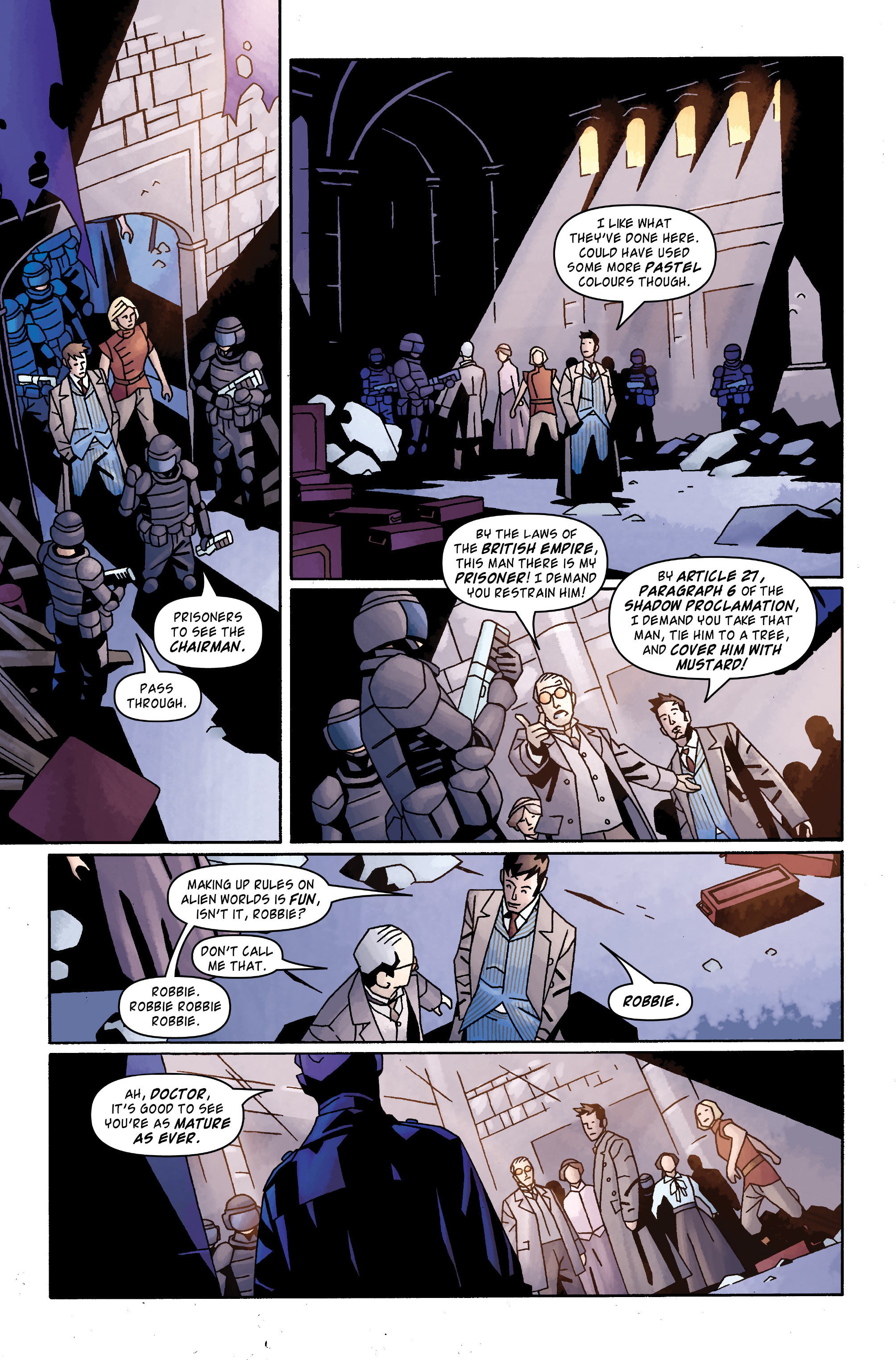 Read online Doctor Who: The Tenth Doctor Archives comic -  Issue #31 - 14