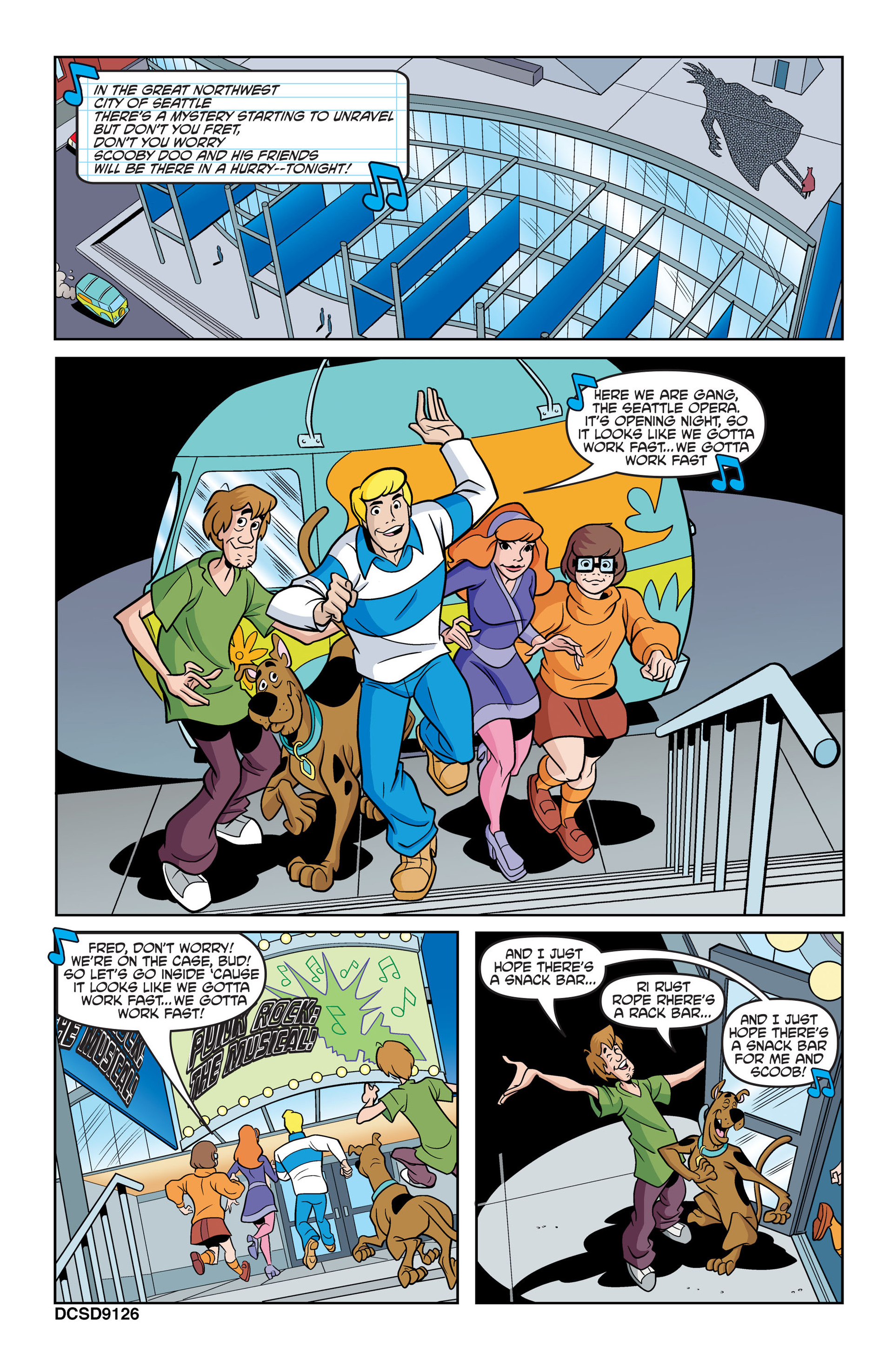 Read online Scooby-Doo: Where Are You? comic -  Issue #43 - 12