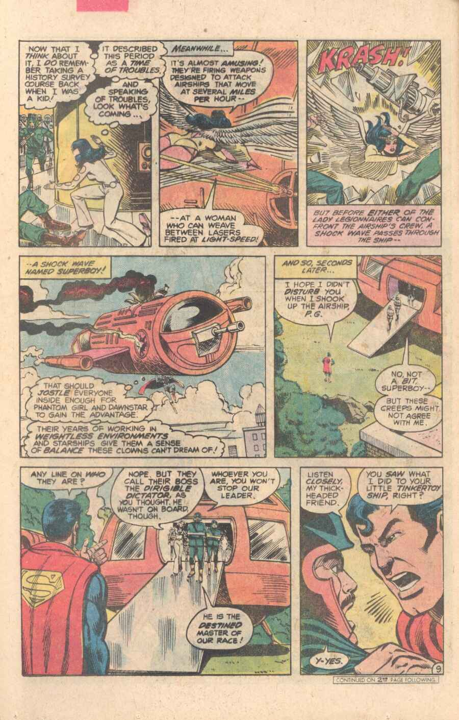 Legion of Super-Heroes (1980) 282 Page 9