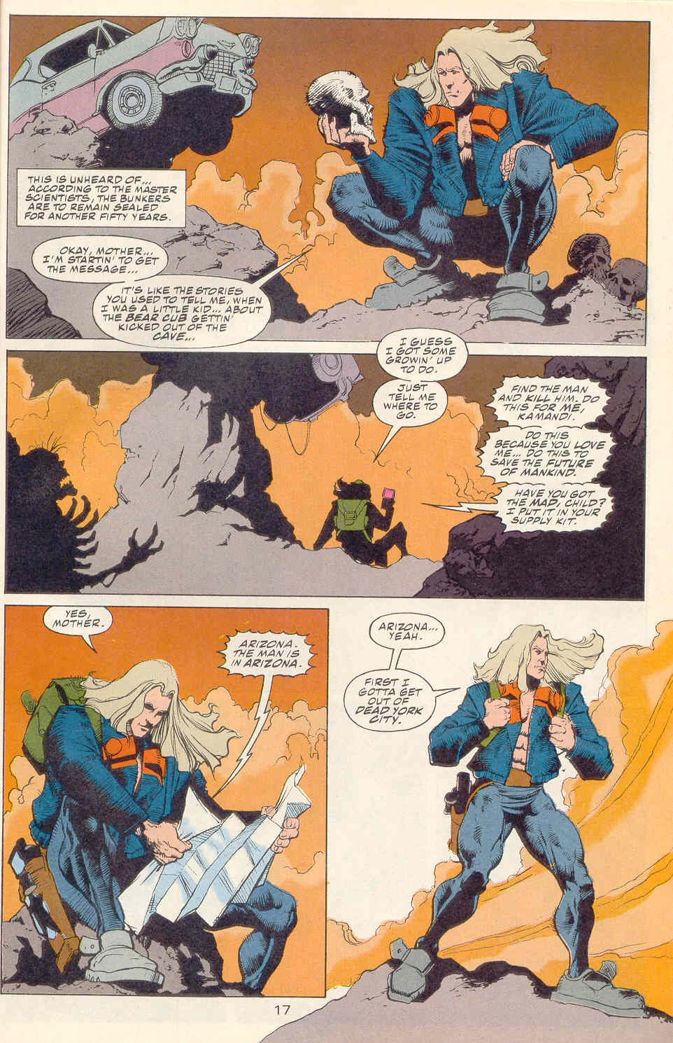 Read online Kamandi: At Earth's End comic -  Issue #1 - 18