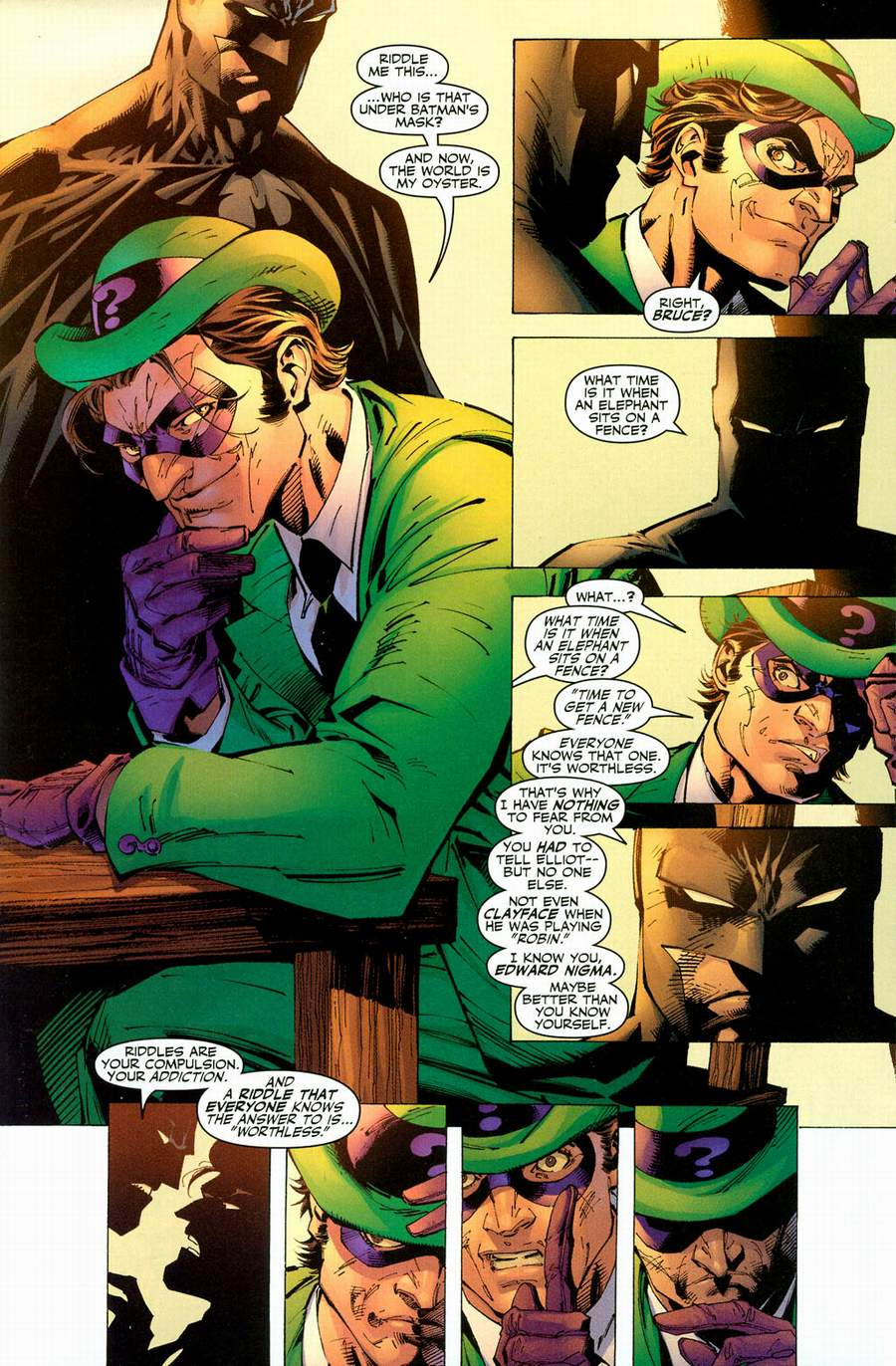 Read online Batman: Hush comic -  Issue #12 - 20