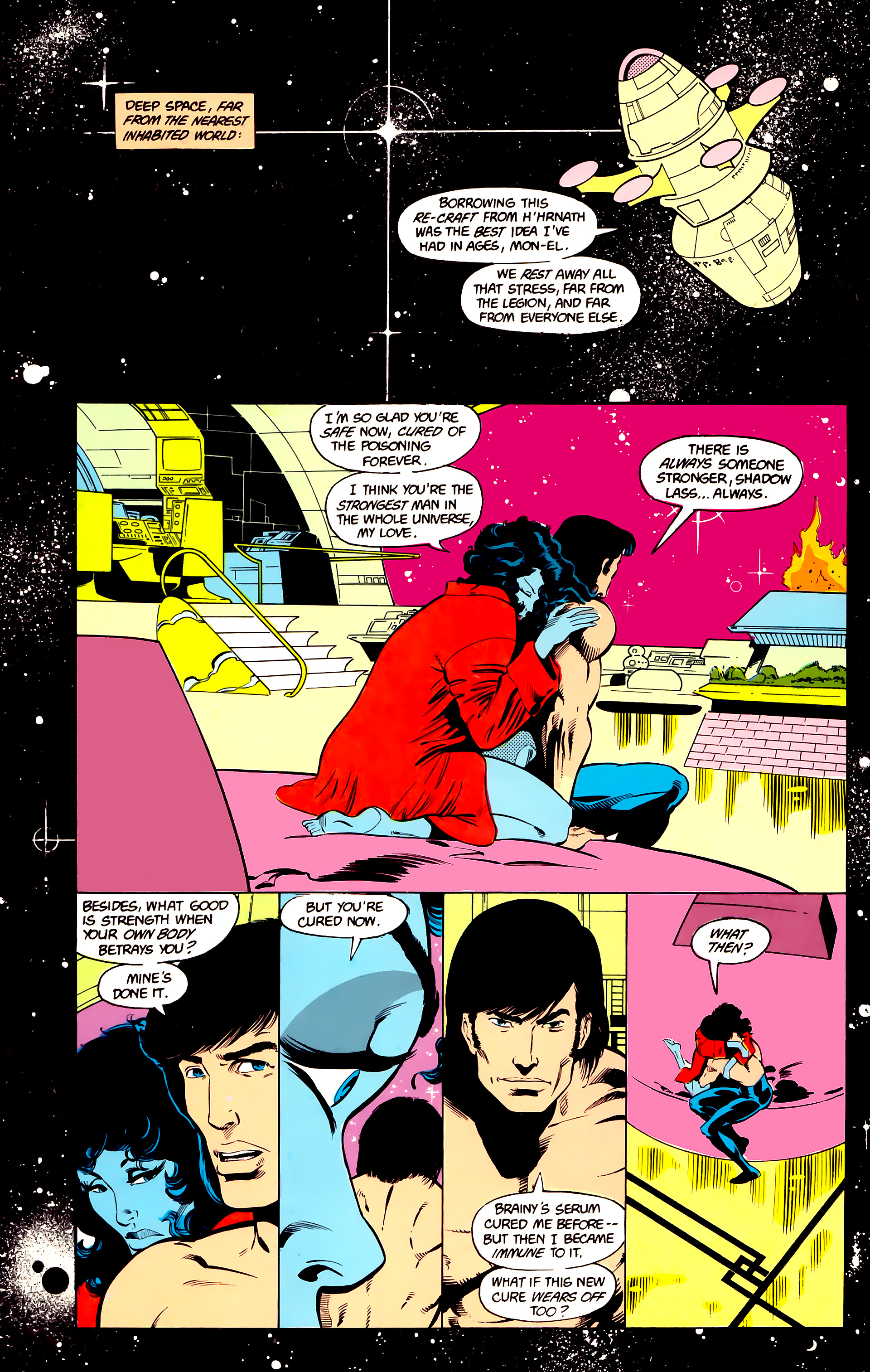 Legion of Super-Heroes (1984) 24 Page 16