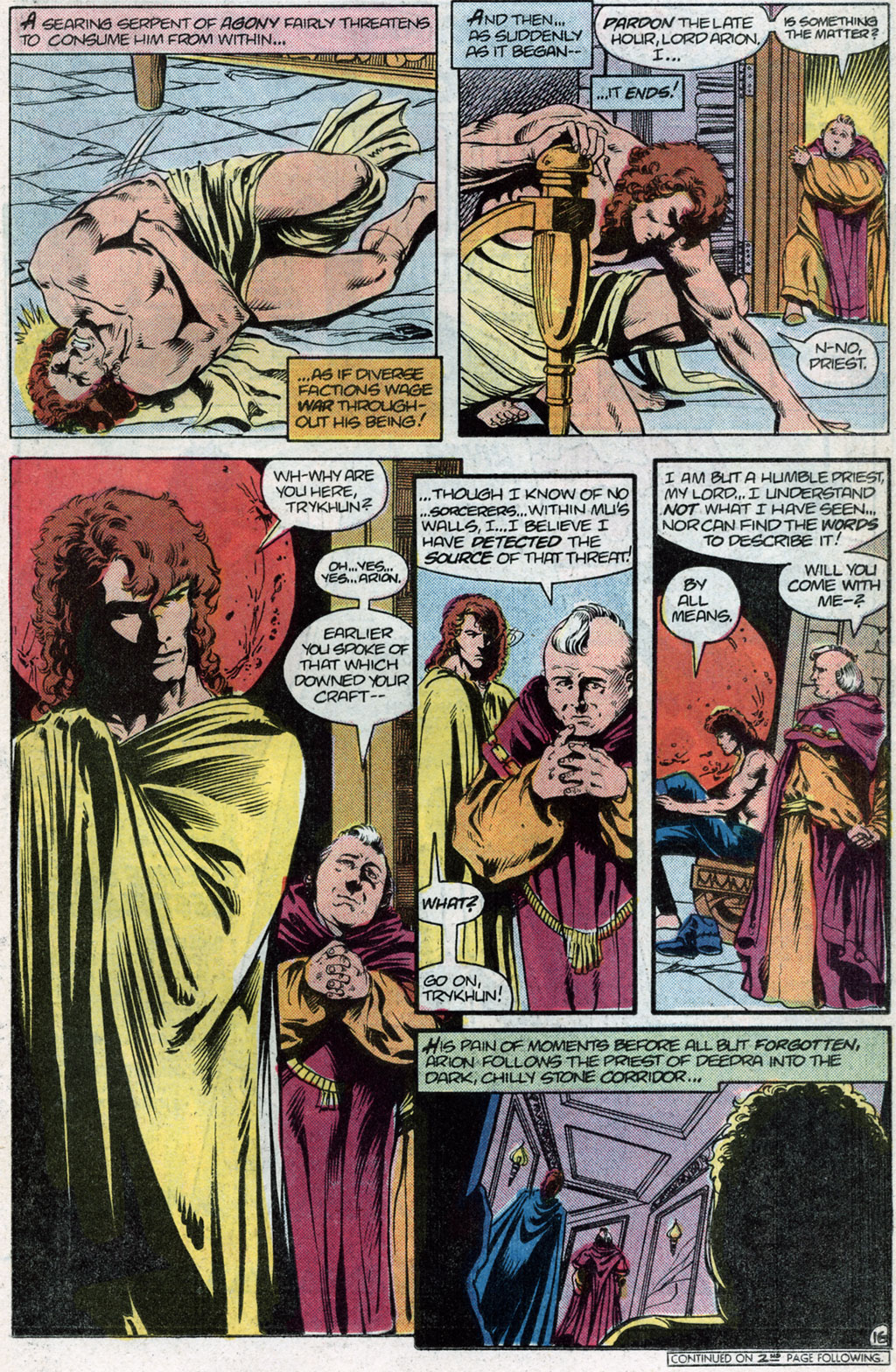 Read online Arion, Lord of Atlantis comic -  Issue #14 - 18