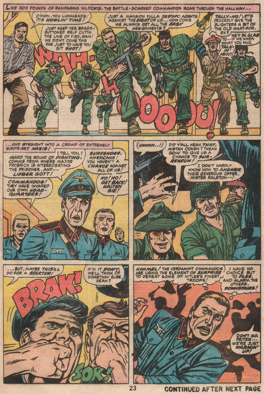 Read online Sgt. Fury comic -  Issue #133 - 25