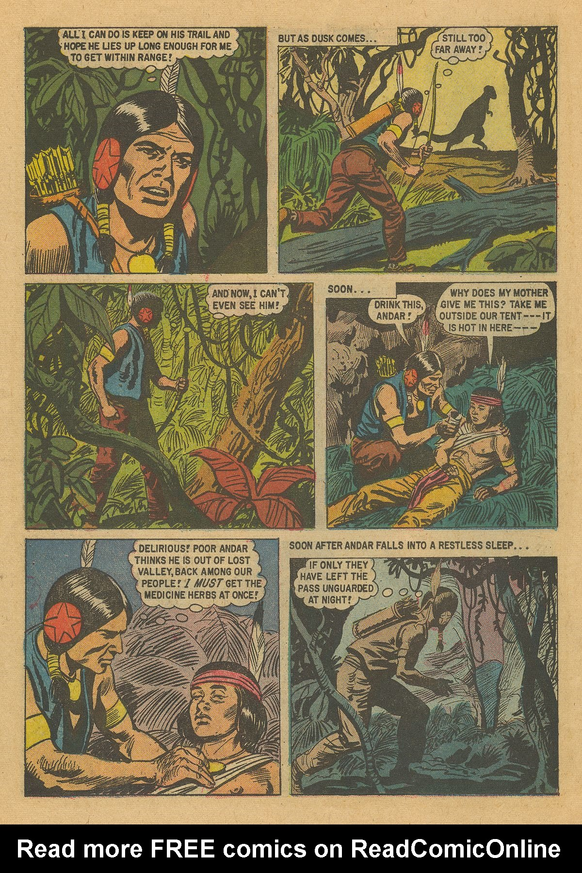 Read online Turok, Son of Stone comic -  Issue #16 - 26