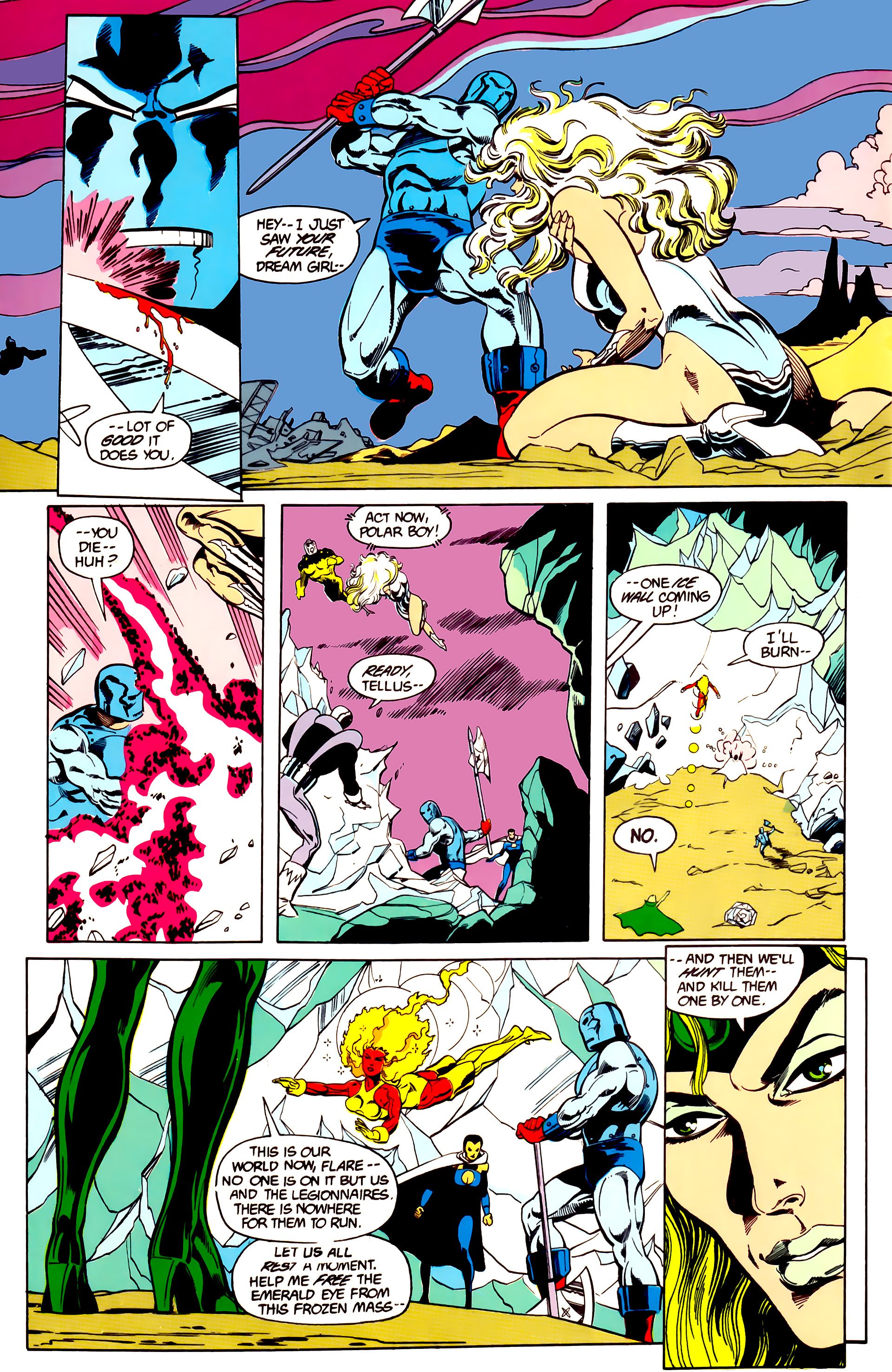 Legion of Super-Heroes (1984) 26 Page 5